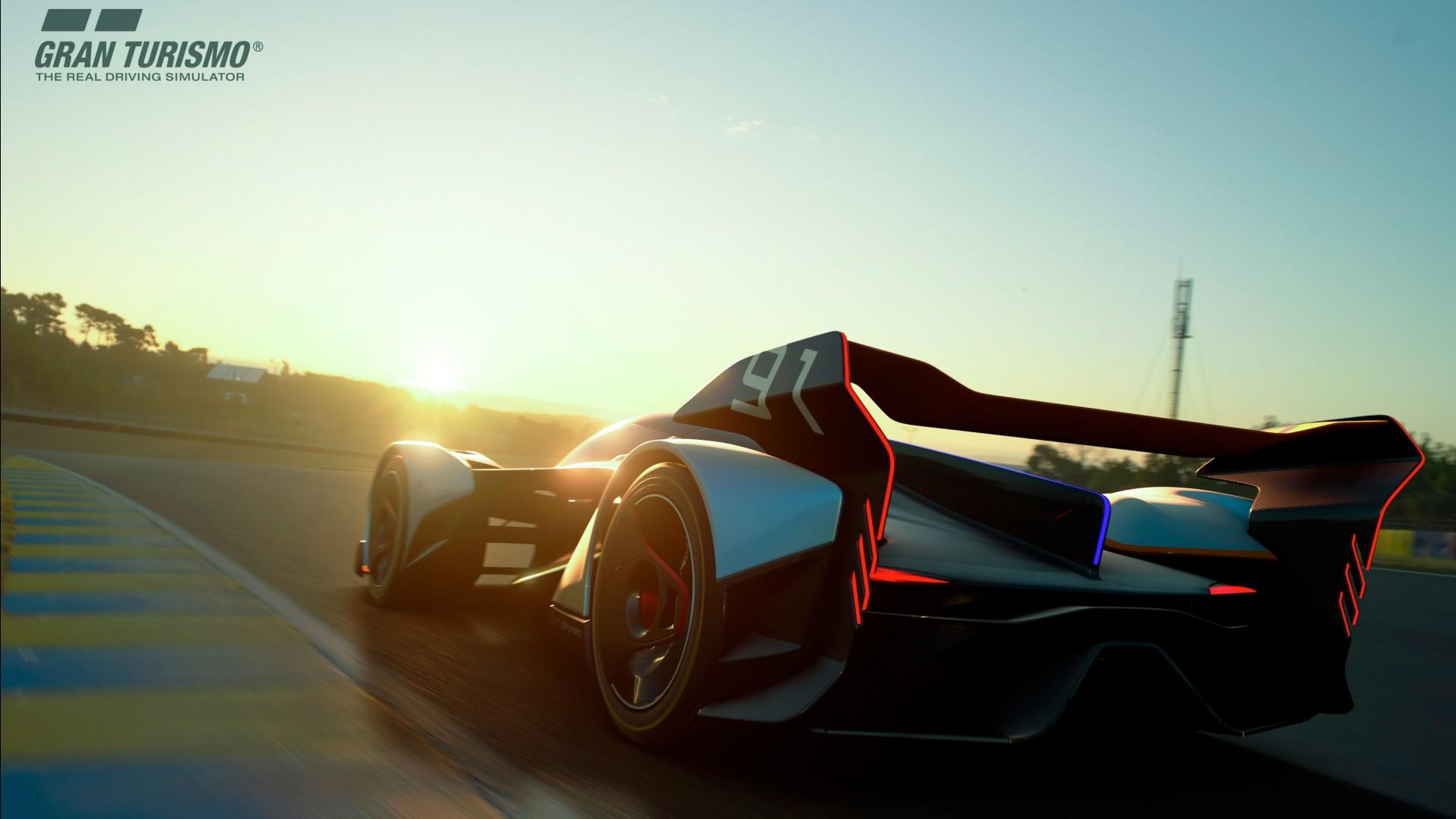High Performance Car Pc Desktop Wallpaper Mclaren Ultimate Vision Gt Ps4 Gran Turismo Sport