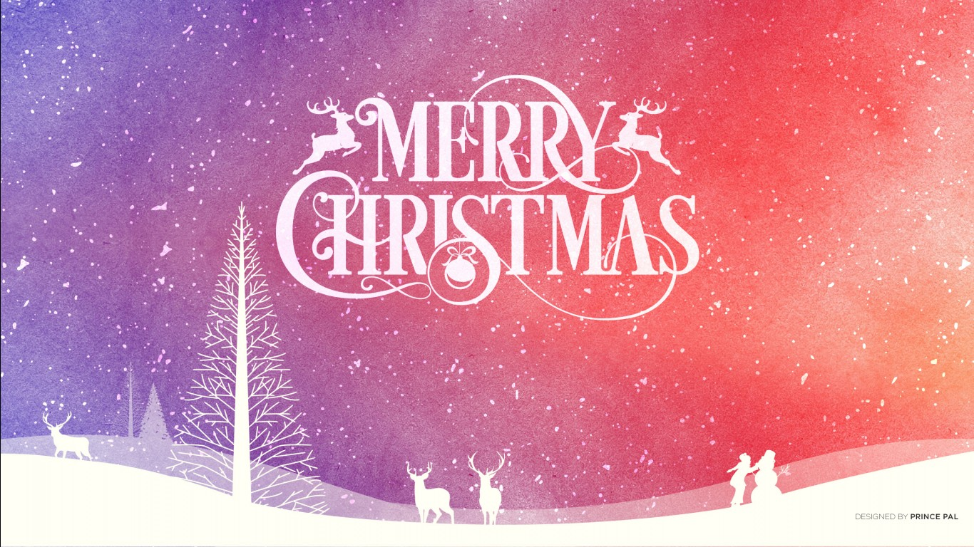Cute Merry Christmas Wallpaper 2016 Merry Christmas 2016 Wallpapers Hd Wallpapers Id 19398