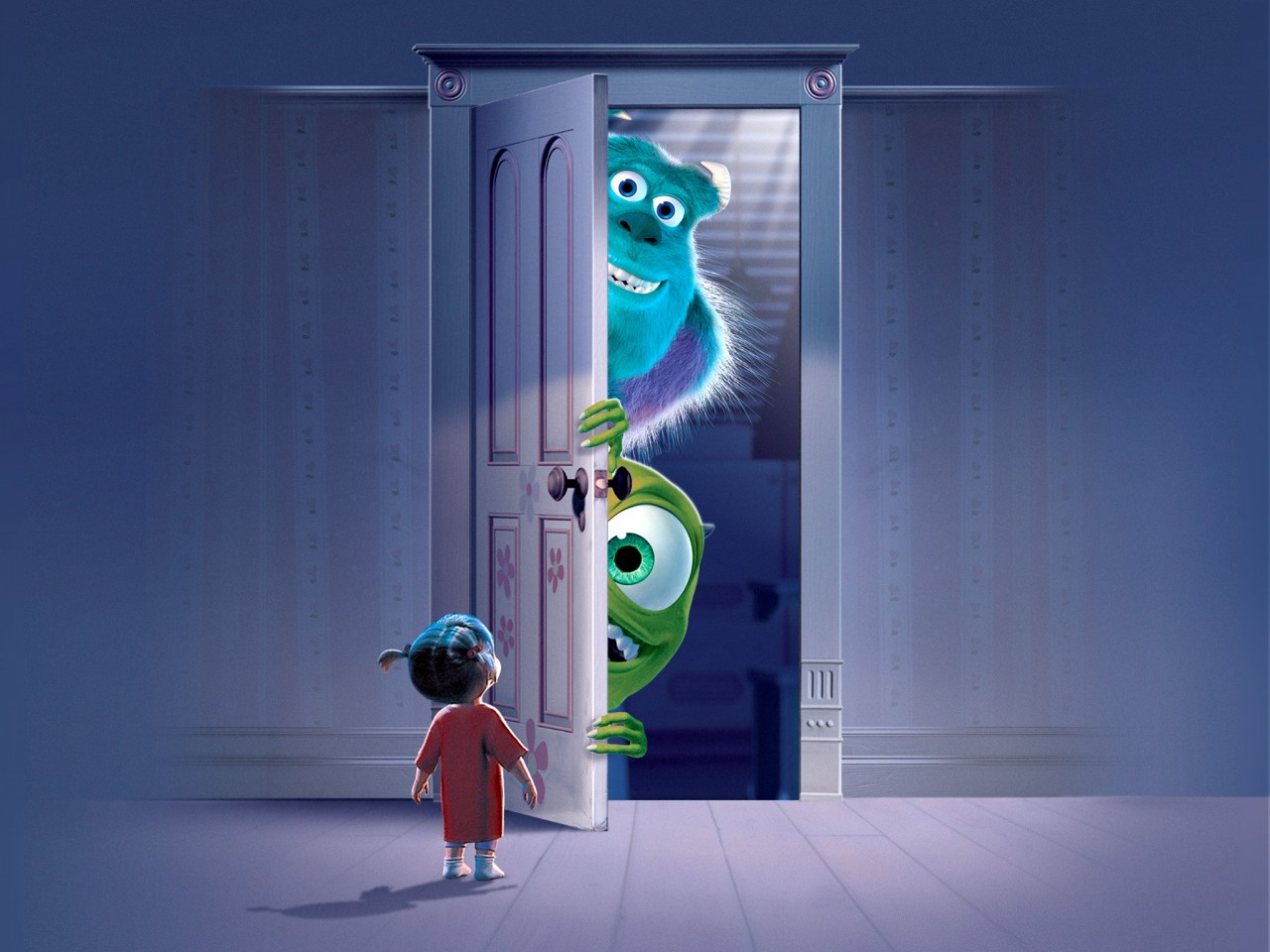 Iphone Book Wallpaper Monsters Inc Movie Wallpapers Hd Wallpapers Id 13795