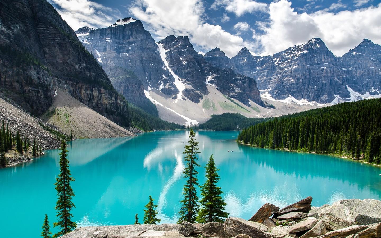 Cute Birds Wallpapers For Desktop Moraine Lake Banff National Park Wallpapers Hd
