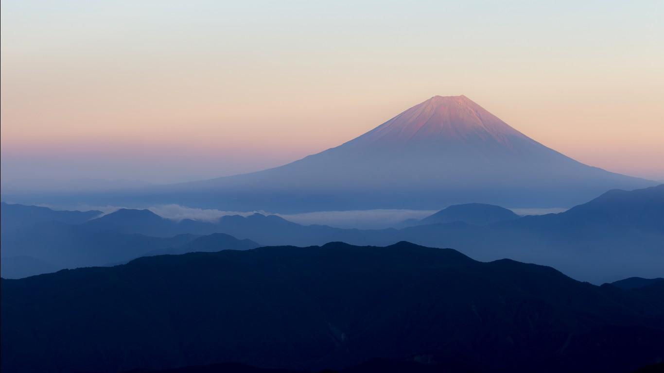 3d Wallpaper On Iphone Mount Fuji Japan 4k Wallpapers Hd Wallpapers Id 21755