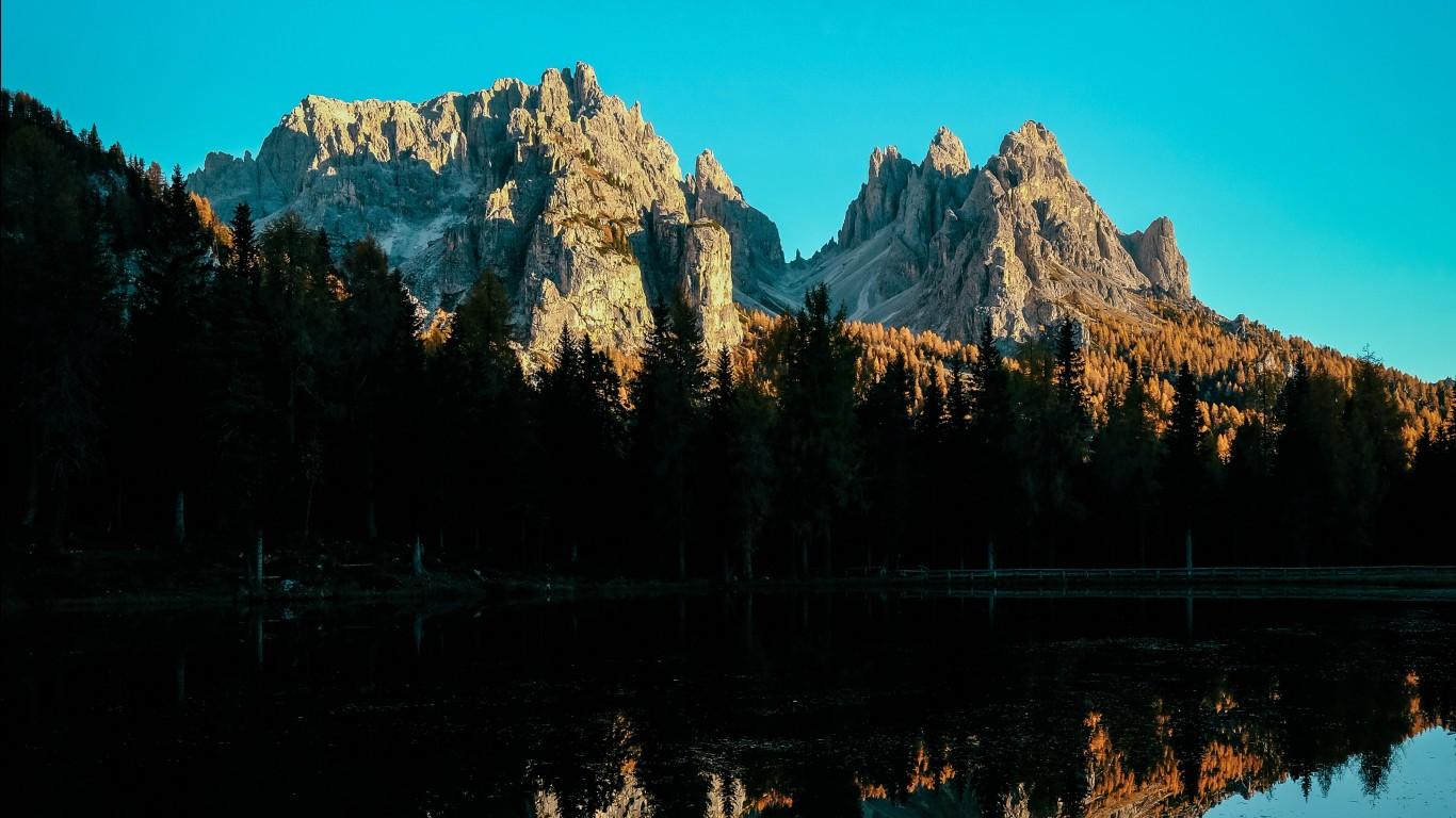 Eclipse Hd Wallpaper Mountains Landscape 4k Wallpapers Hd Wallpapers Id 27482