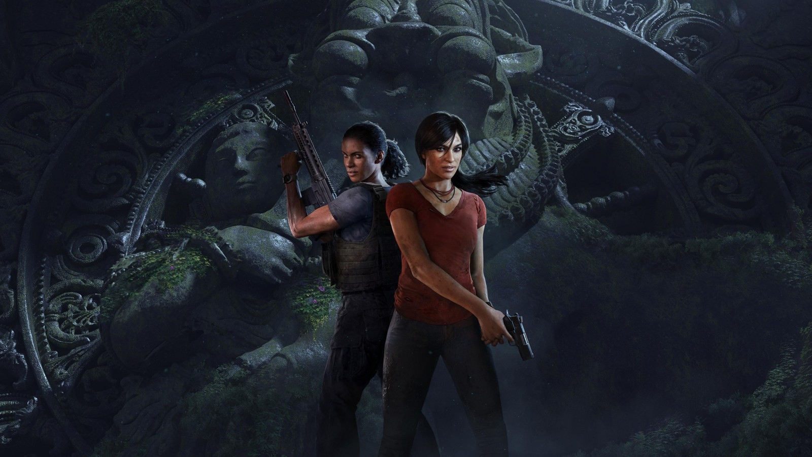 Uncharted Iphone Wallpaper Nadine Ross Chloe Frazer Uncharted The Lost Legacy 4k