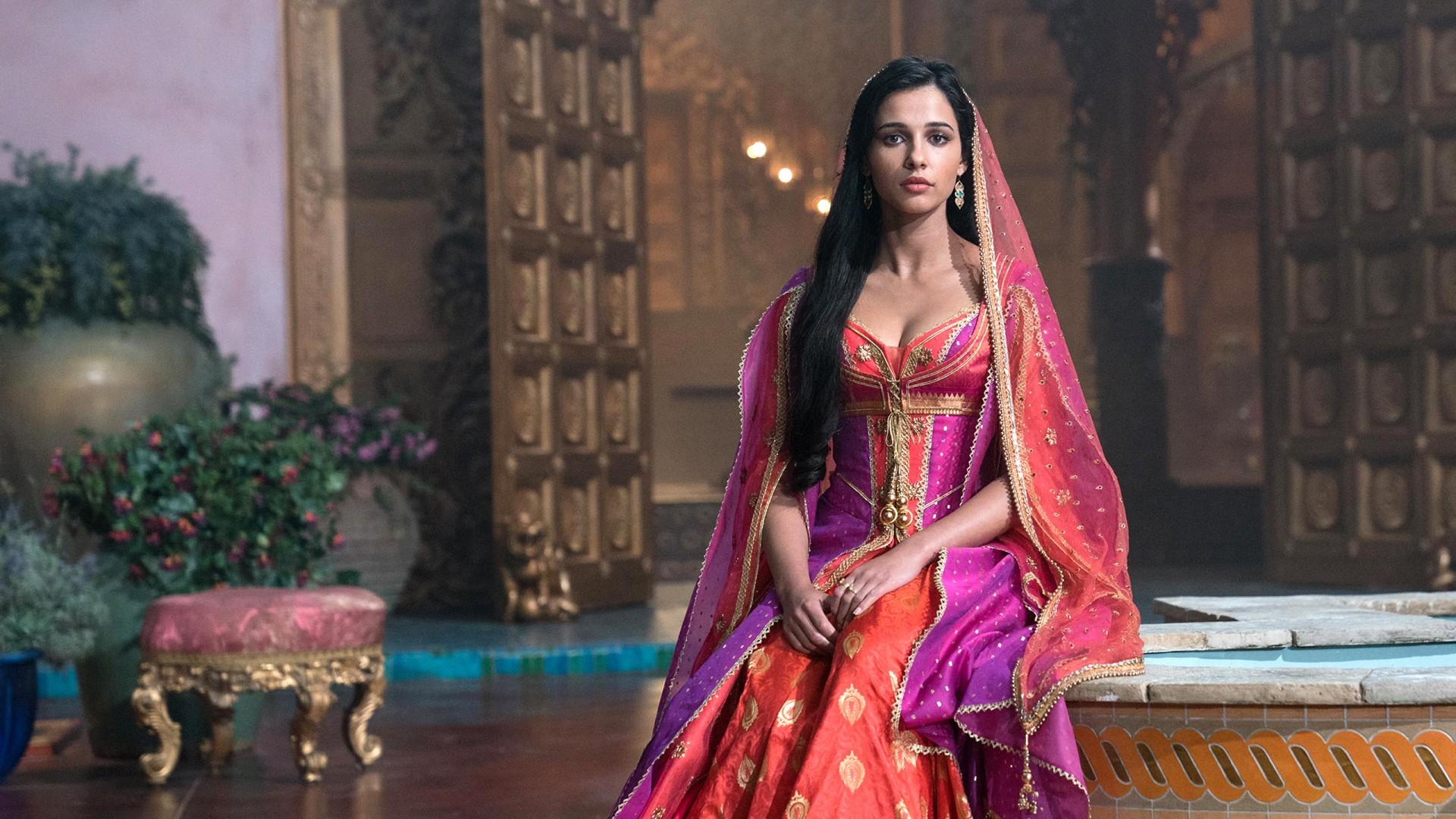 Naomi Scott as Princess Jasmine in Aladdin Wallpapers  HD Wallpapers  ID 28201