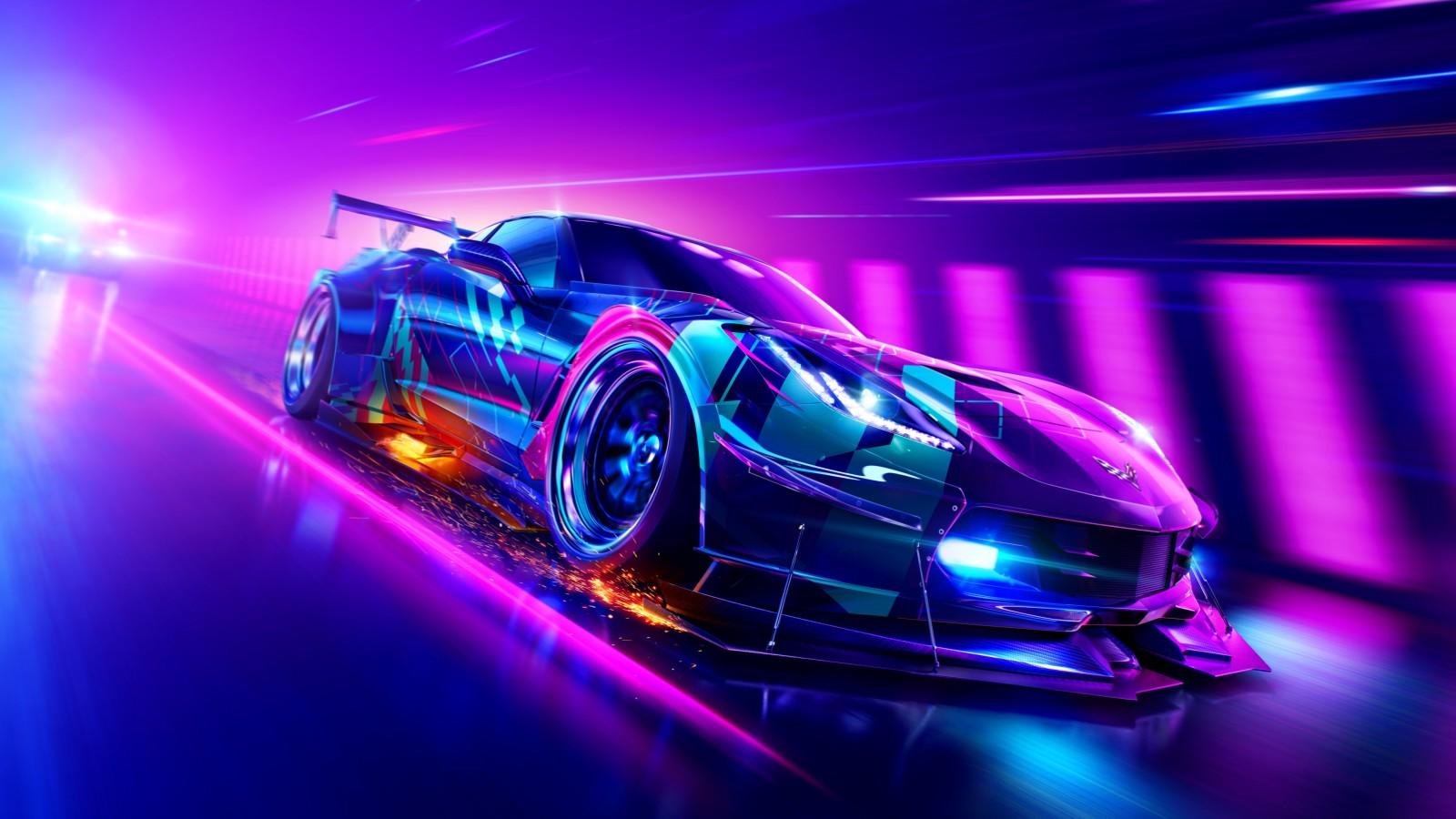 Need For Speed World Cars Wallpaper Need For Speed Heat Chevrolet Corvette Grand Sport 4k
