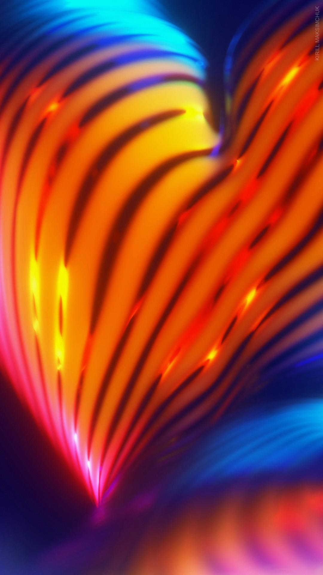 Iphone X Liquid Wallpaper Hd Android Neon Abstract Wallpapers Hd Wallpapers Id 25673