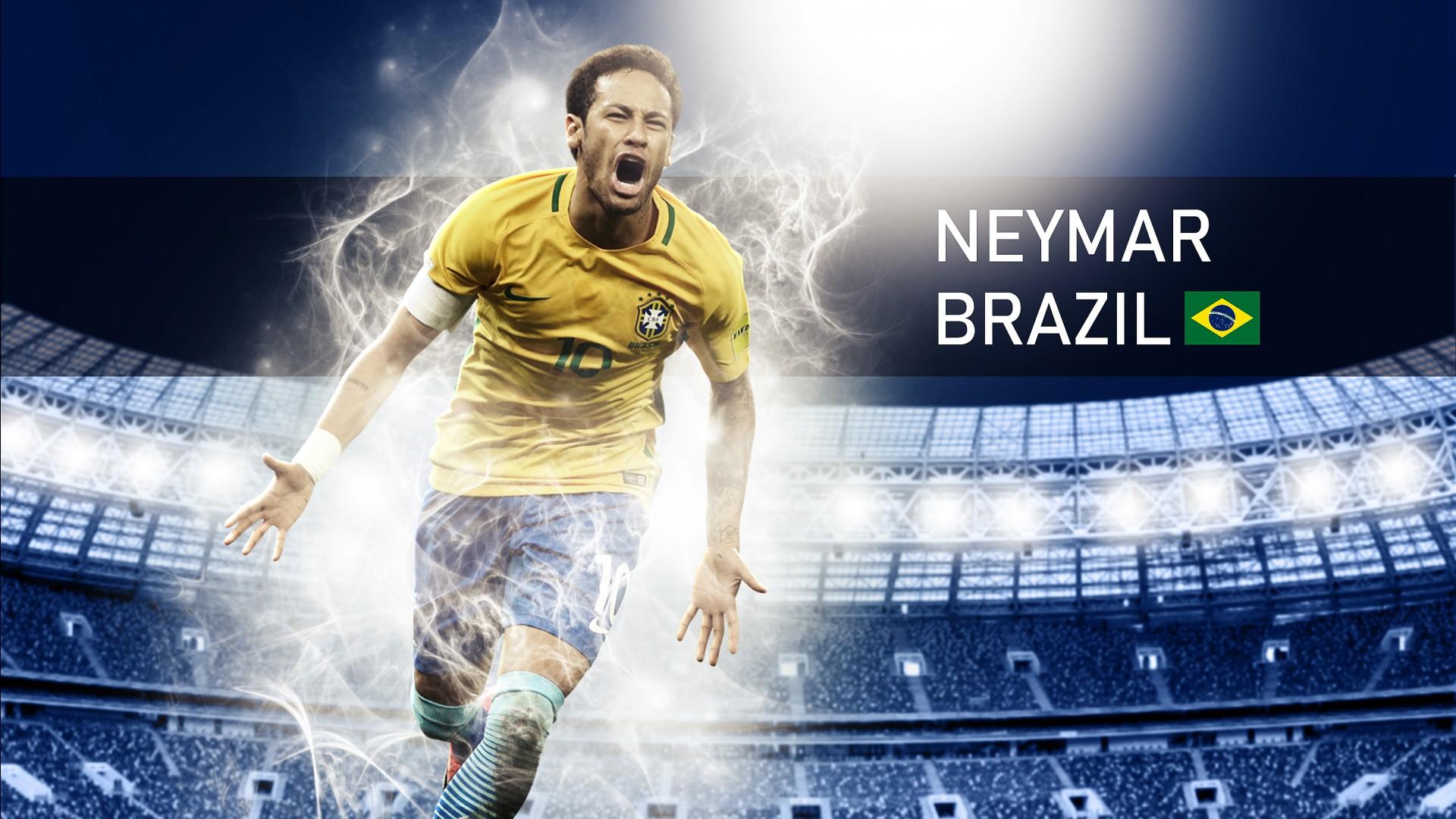Cute Inspirational Iphone Wallpapers Neymar Jr Brazil Footballer Wallpapers Hd Wallpapers