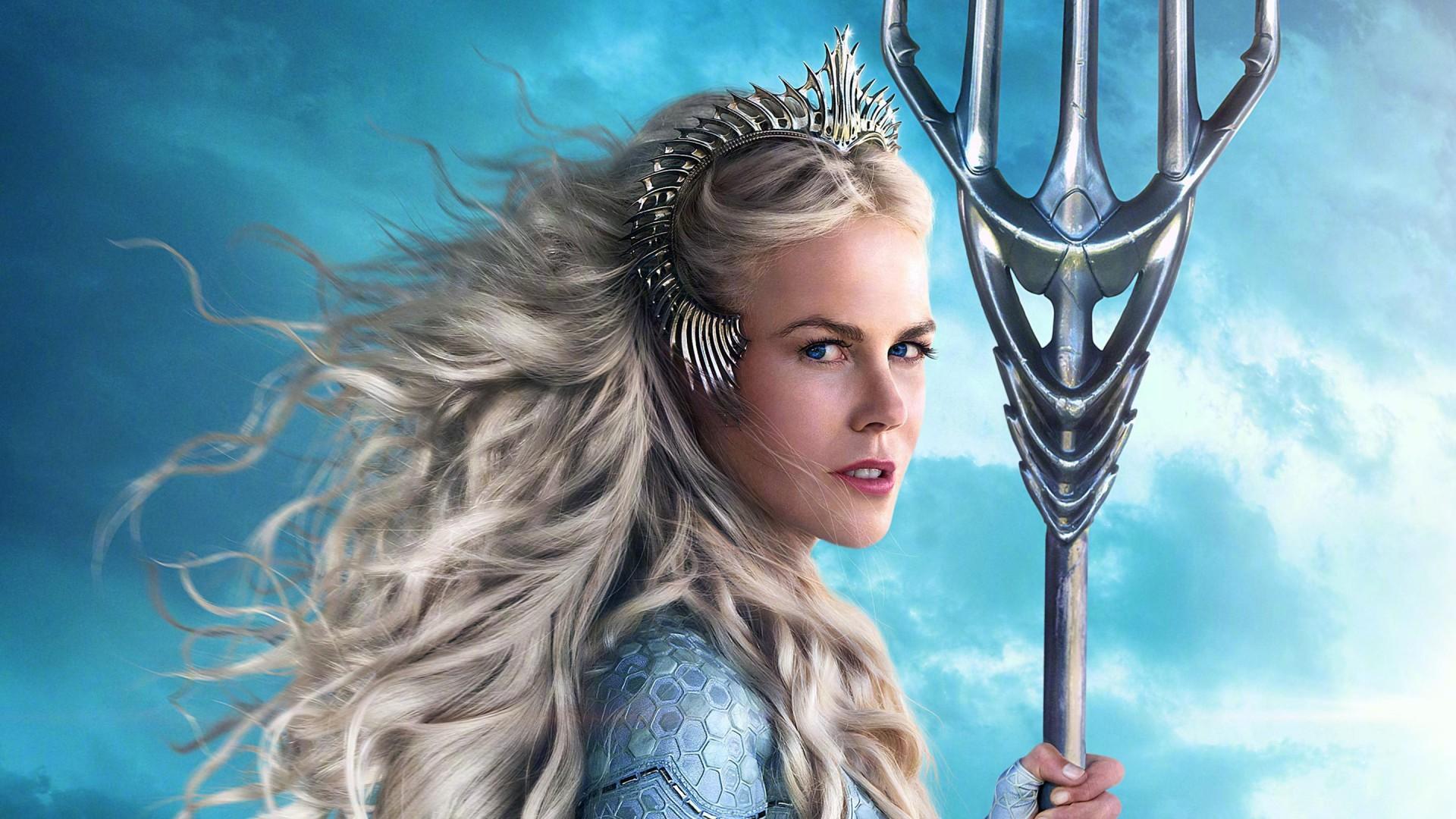 Iphone Hd 3d Wallpapers Nicole Kidman As Queen Atlanna In Aquaman Wallpapers Hd