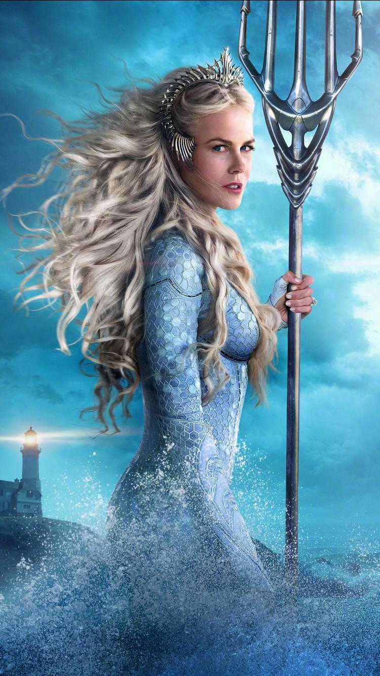 Final Fantasy X Wallpaper Iphone Nicole Kidman As Queen Atlanna In Aquaman Wallpapers Hd