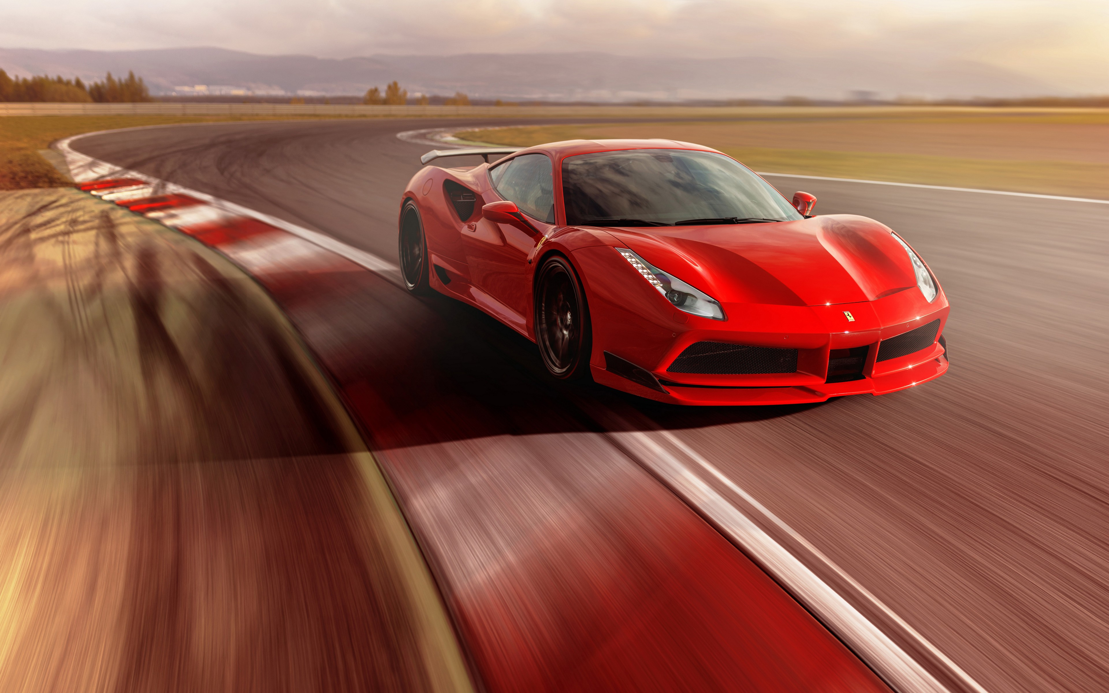 Laferrari Iphone Wallpaper Novitec Rosso Ferrari 488 Gtb N Largo 4k Wallpapers Hd