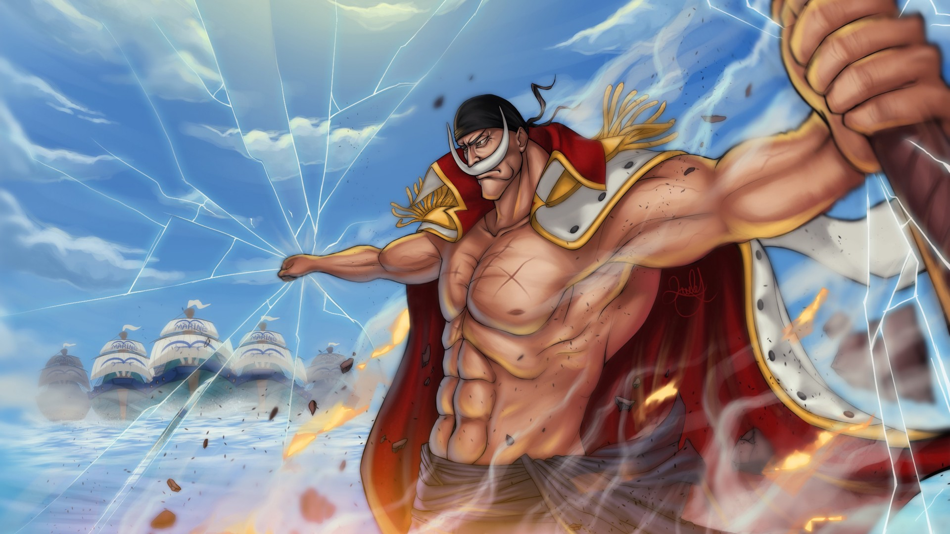 These deals for animal wallpaper are already going fast. One Piece White Beard Zoro 4K HD Anime Wallpapers | HD ...