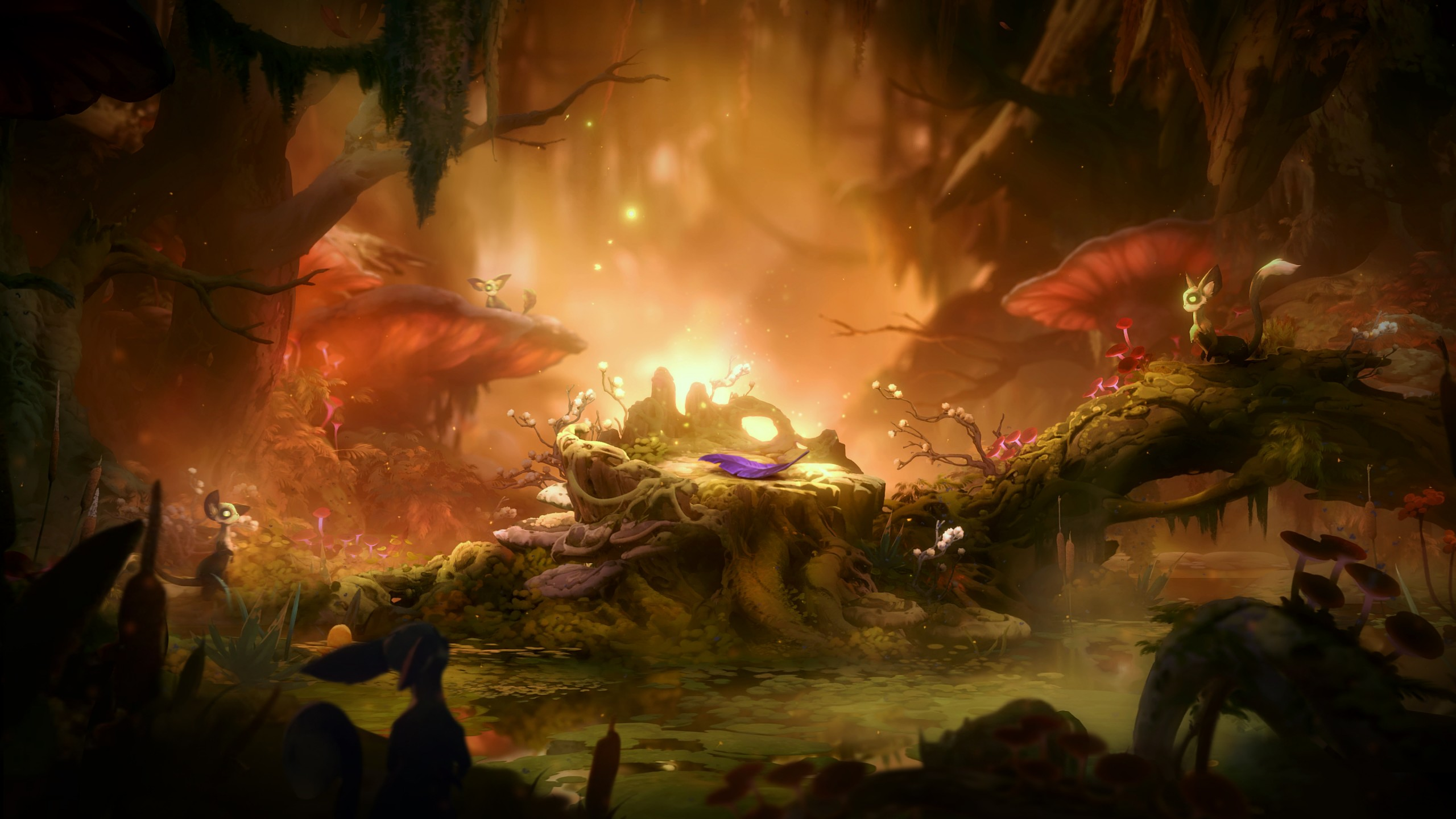 Awsome Cute Skull Wallpapers Ori And The Will Of The Wisps Wallpapers Hd Wallpapers