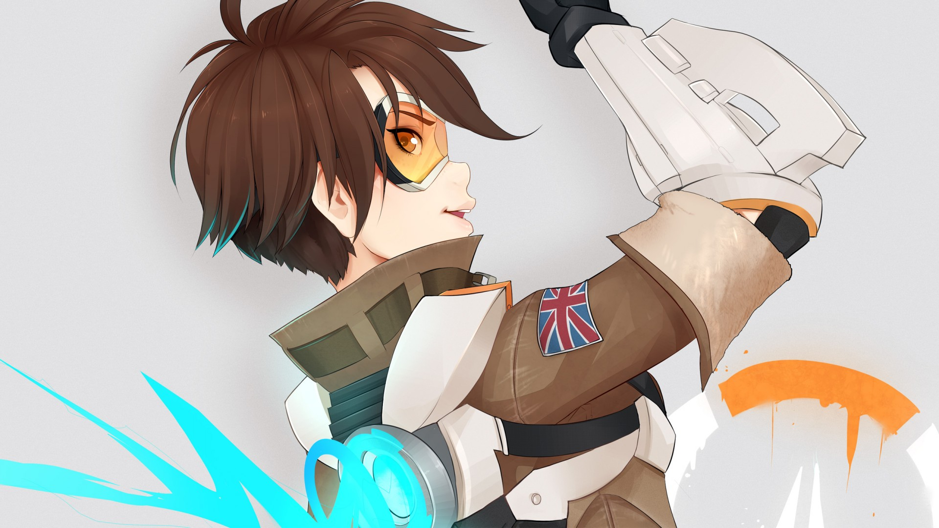 3d Wallpapers Hd 1680x1050 Overwatch Tracer Hd Wallpapers Hd Wallpapers Id 17782