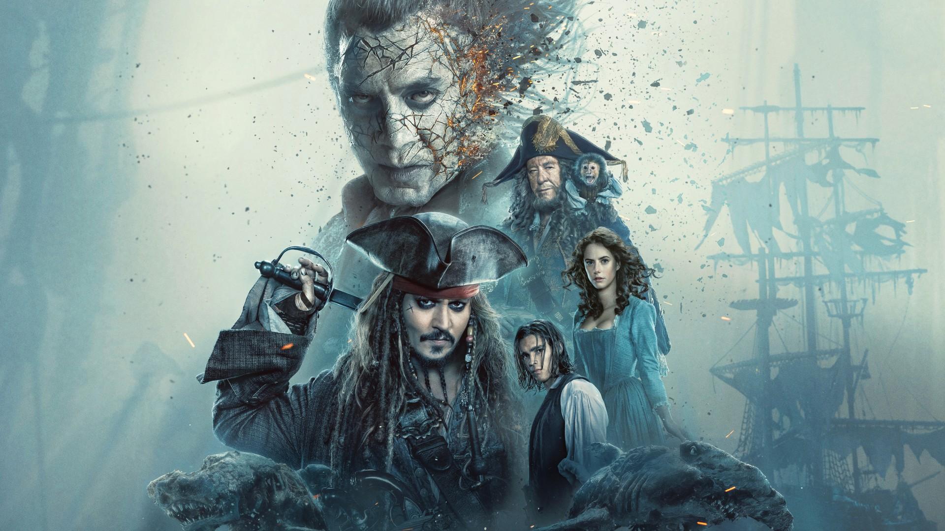 3d Desktop Wallpaper Superman Hd Pirates Of The Caribbean Dead Men Tell No Tales 5k