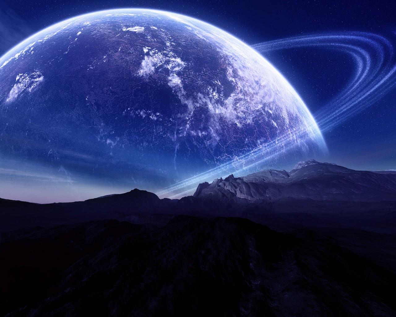 Hd Earth Wallpaper Widescreen Planet Closer Look Wallpapers Hd Wallpapers Id 3864