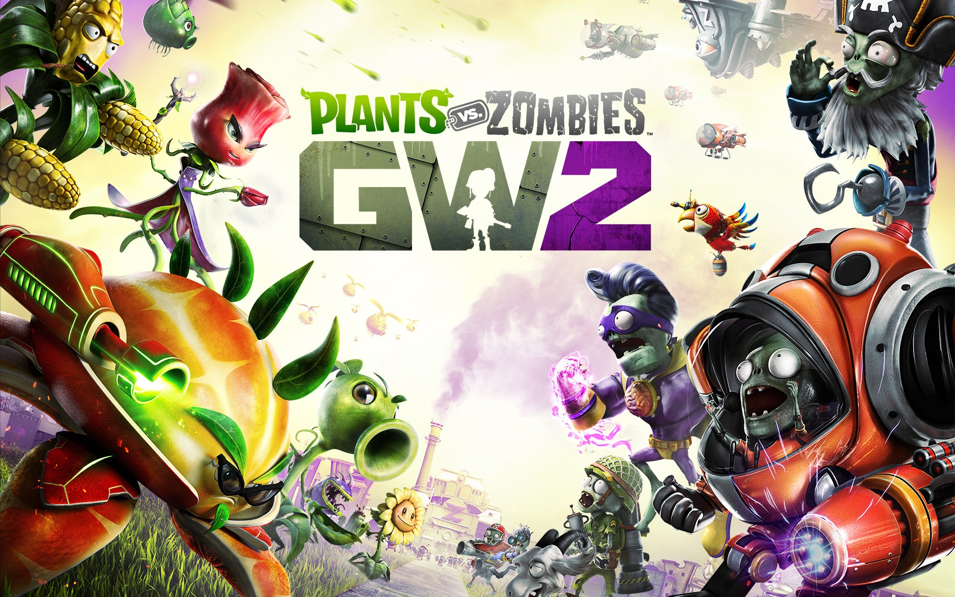 High Definition Cute Wallpapers Plants Vs Zombies Garden Warfare 2 Wallpapers Hd