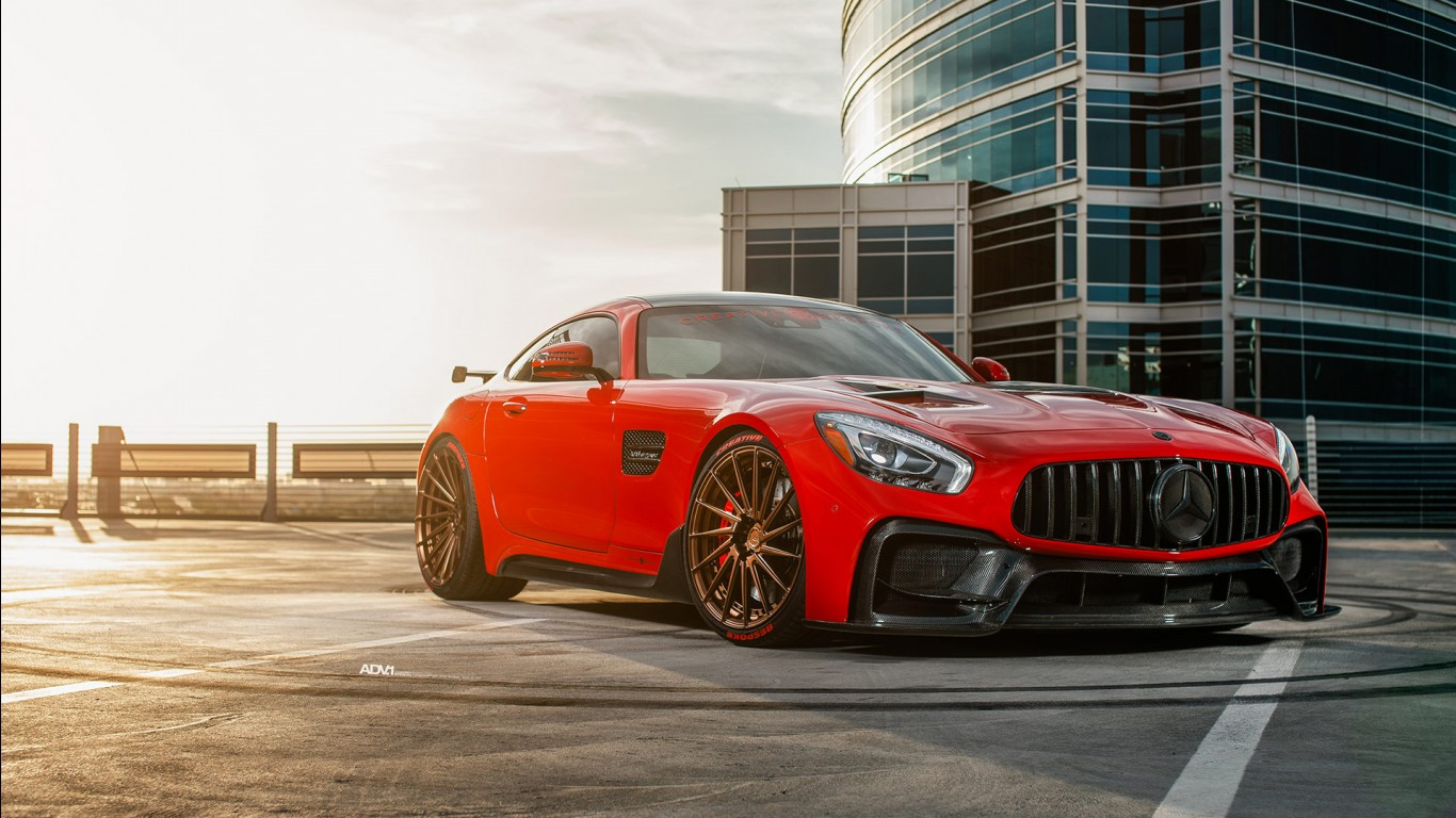 Hd Red Iphone Wallpaper Red Darwin Pro Mercedes Amg Gts 2018 Wallpapers Hd