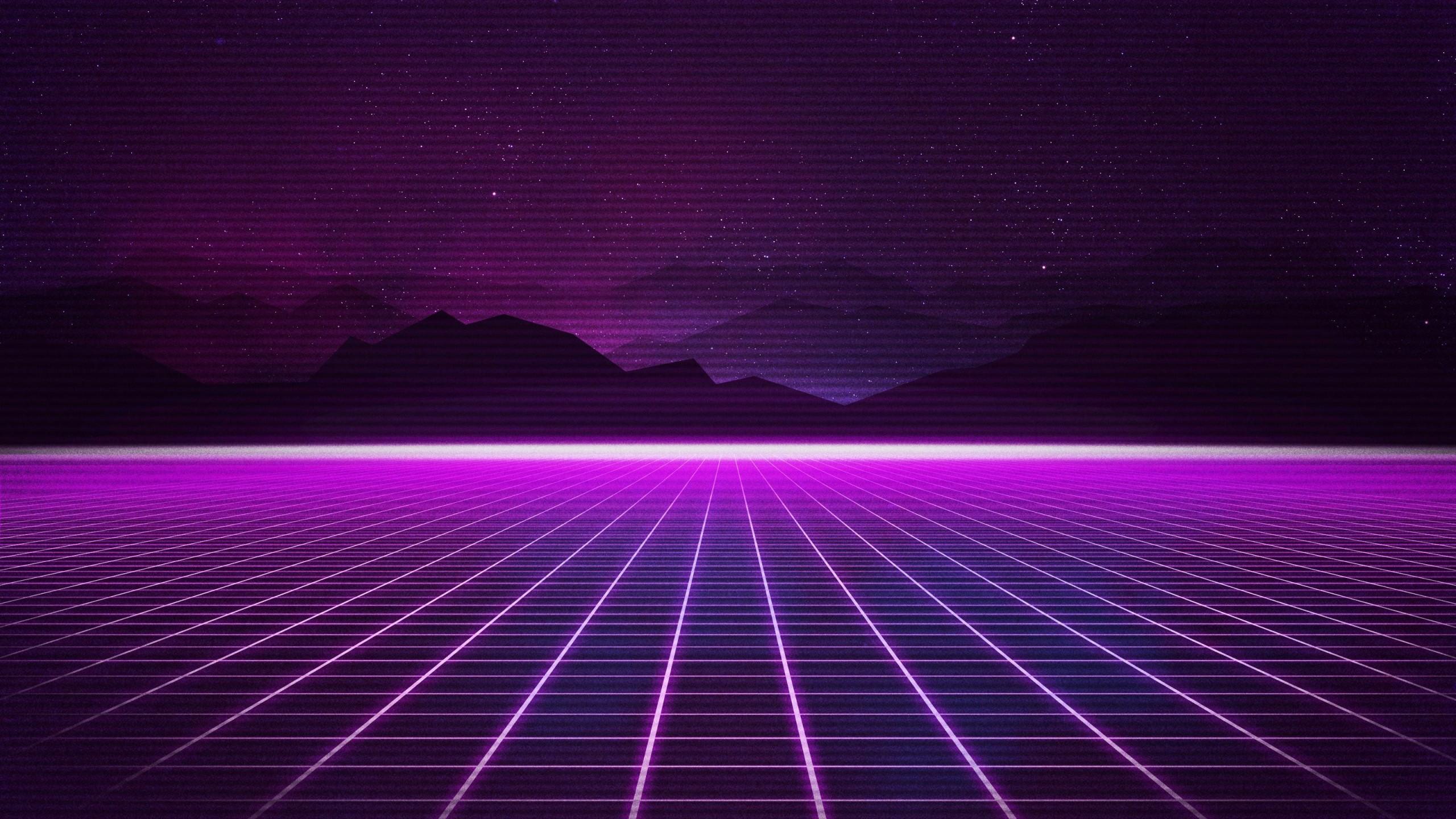 Cute Wallpapers In Full Hd Retrowave Neon Grids Wallpapers Hd Wallpapers Id 28470