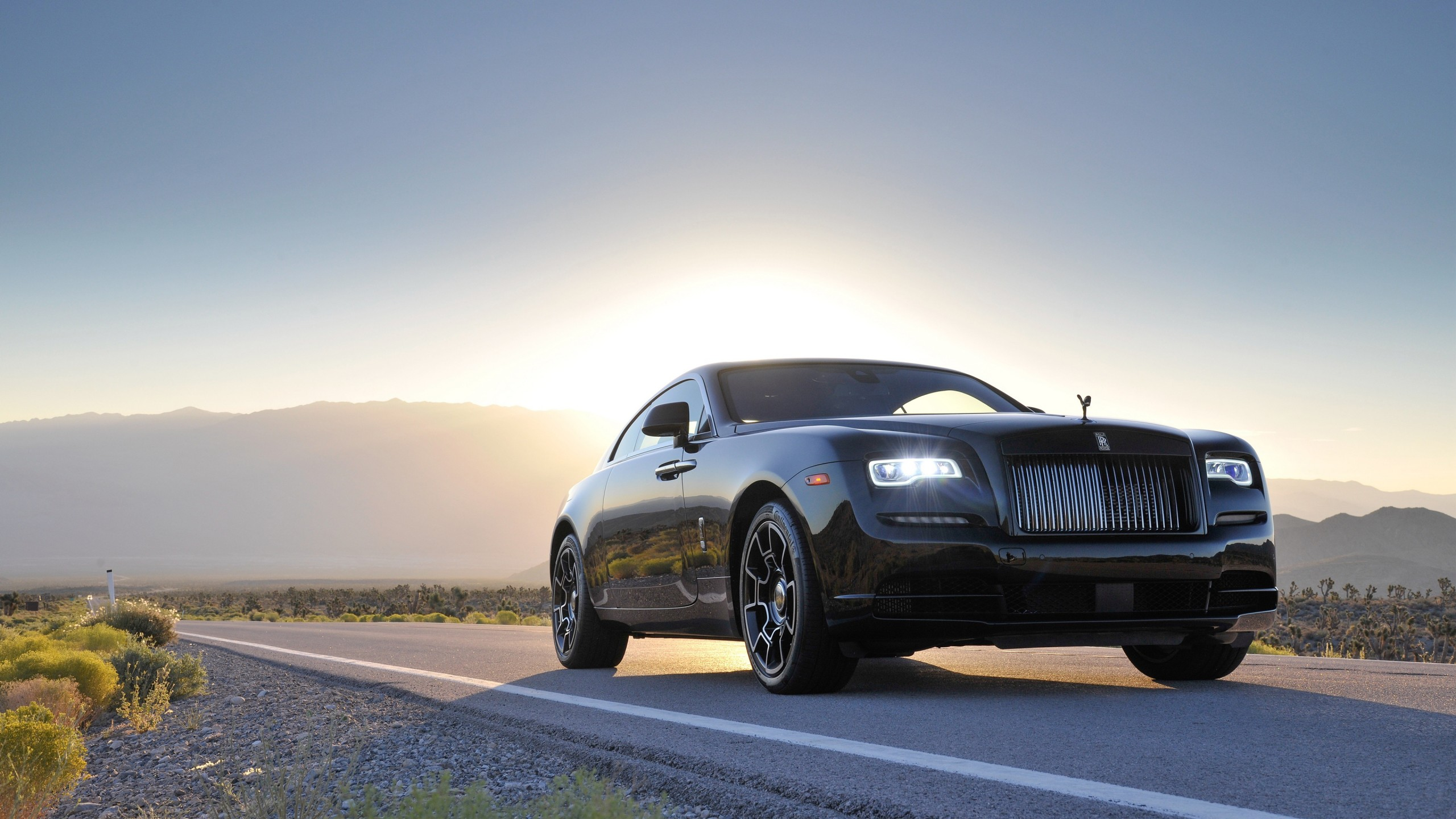 Rolls Royce Wraith Black Badge 4K Wallpapers HD