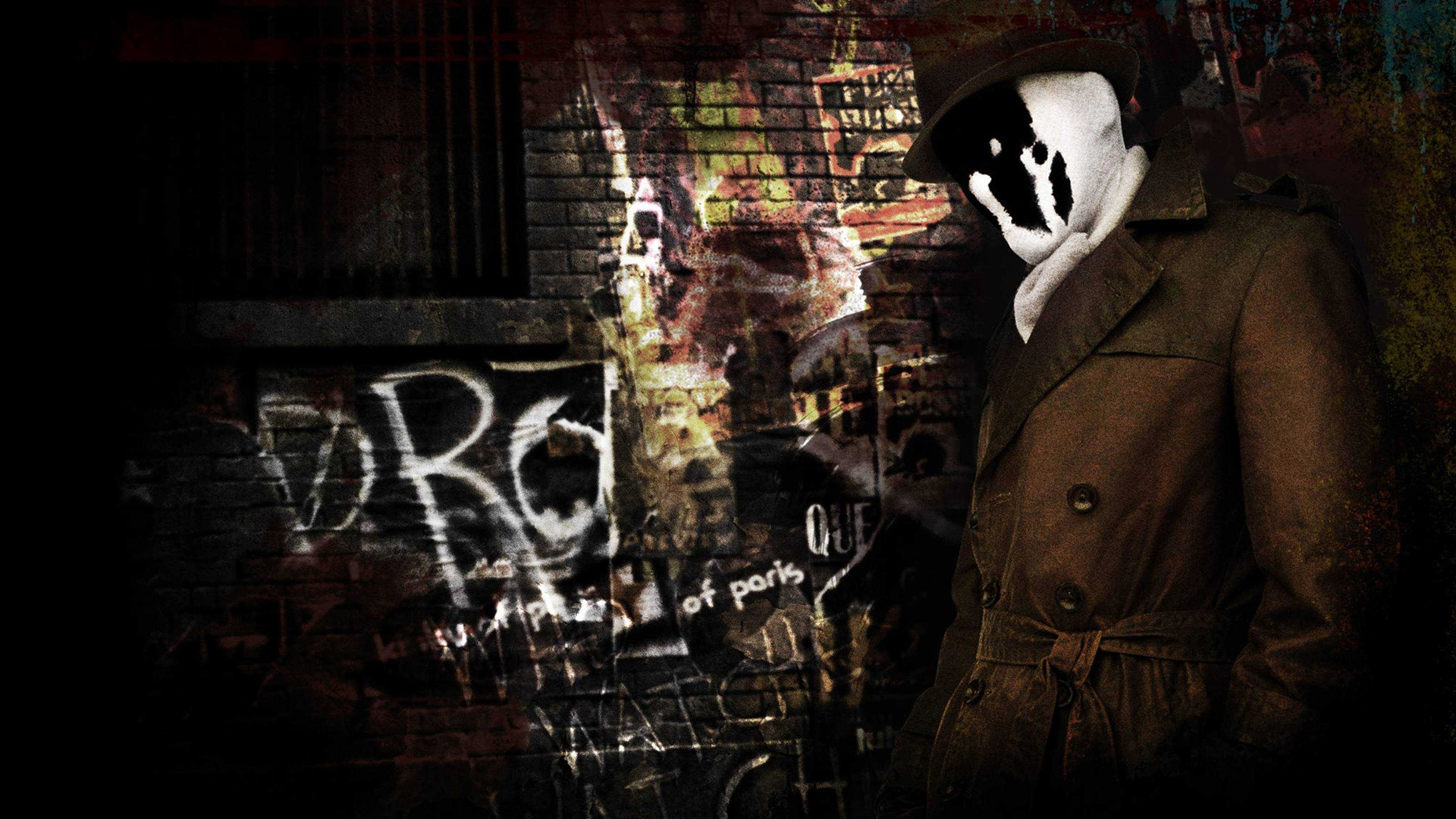 Superhero Hd Wallpapers Iphone Rorschach In Watchmen Wallpapers Hd Wallpapers Id 10675