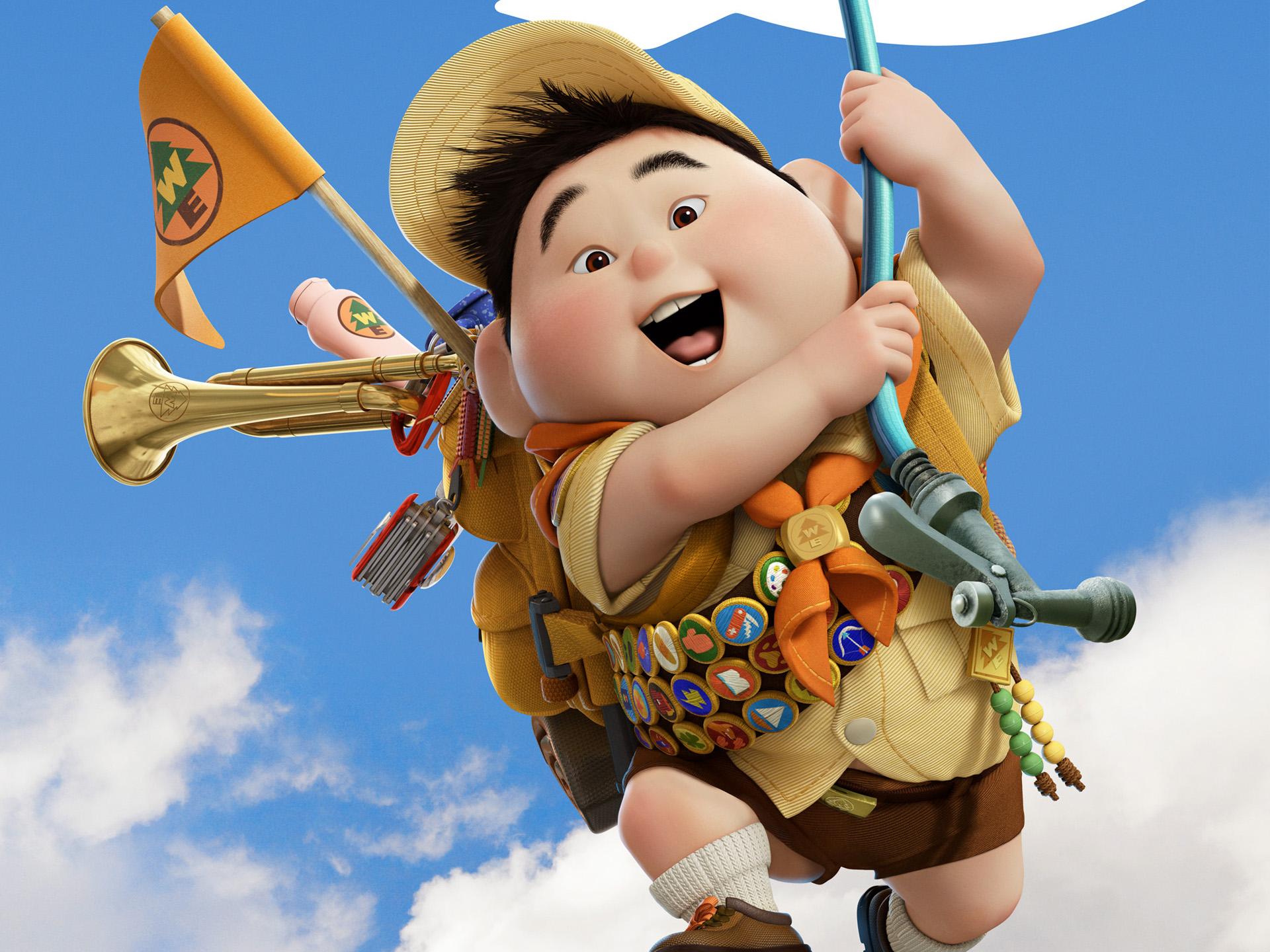 russell boy in pixar