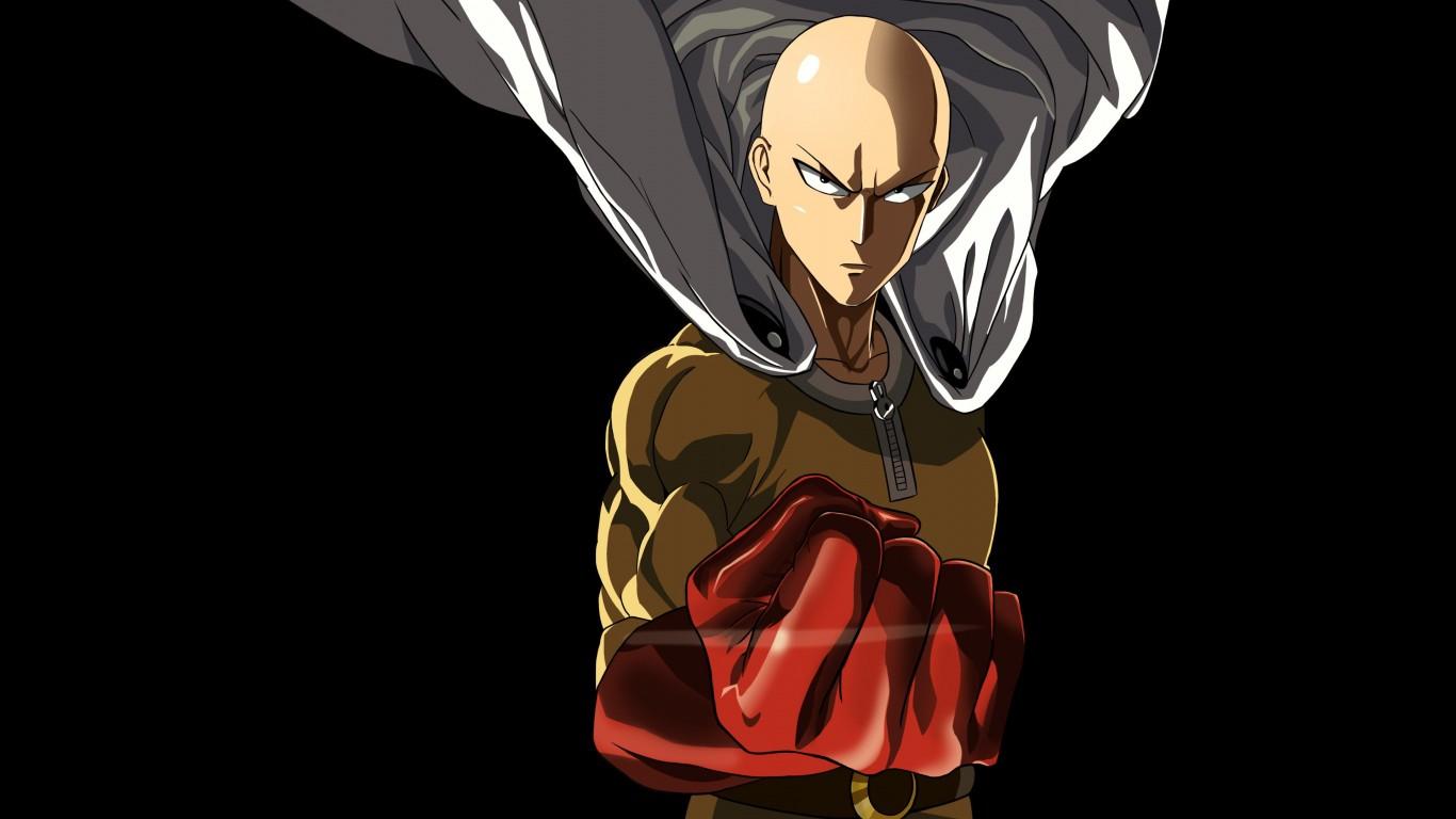 Goku Ultra Instinct Wallpaper Iphone X Saitama One Punch Man Wallpapers Hd Wallpapers Id 16960