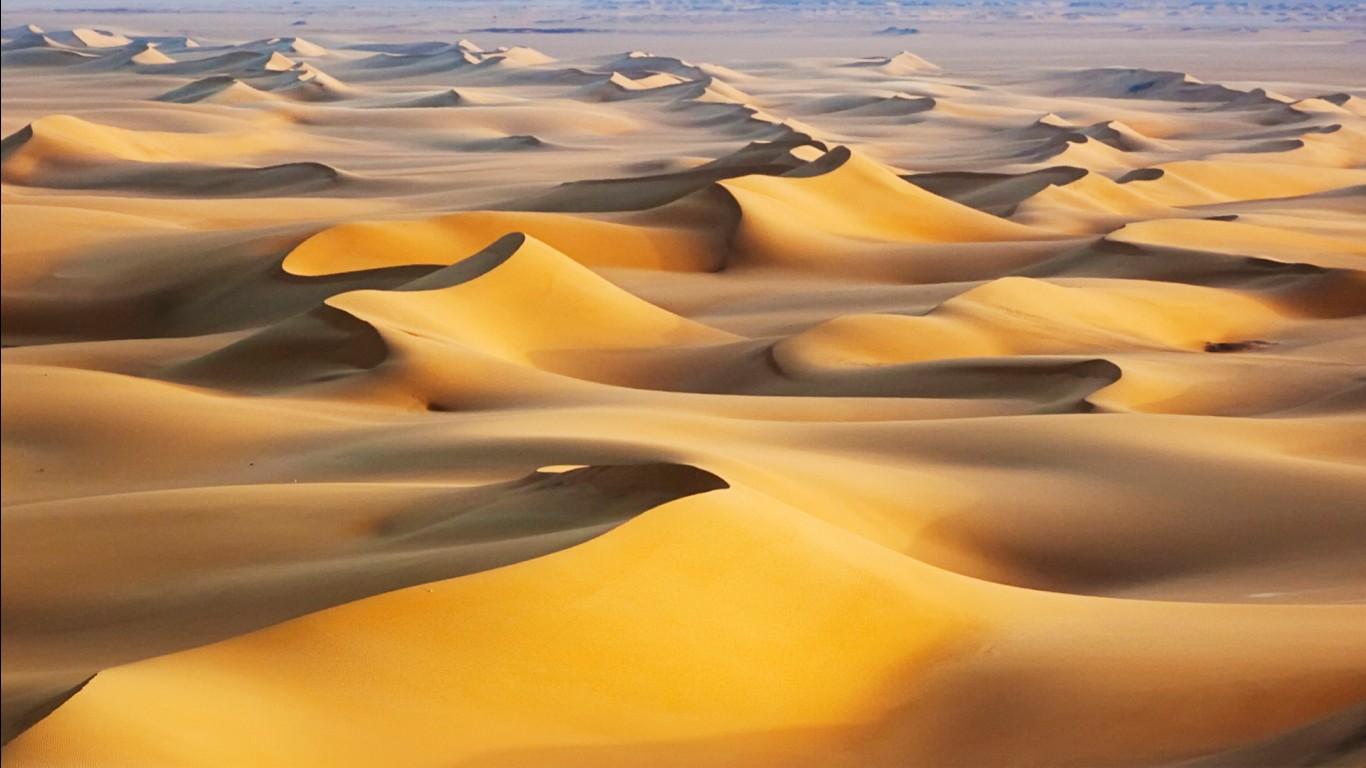 Cute Alone Girls Wallpapers Sand Dunes Sunrise White Desert Egypt Wallpapers Hd