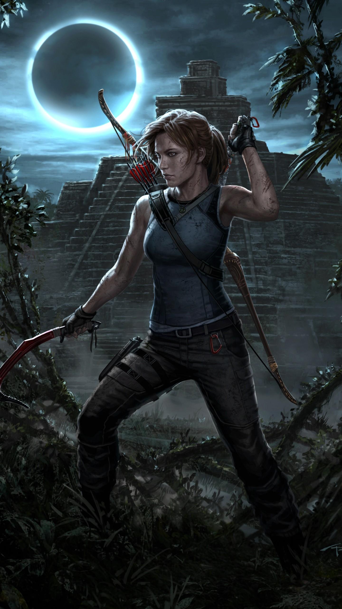 Tomb Raider Iphone 5 Wallpaper Shadow Of The Tomb Raider Lara Croft Wallpapers Hd