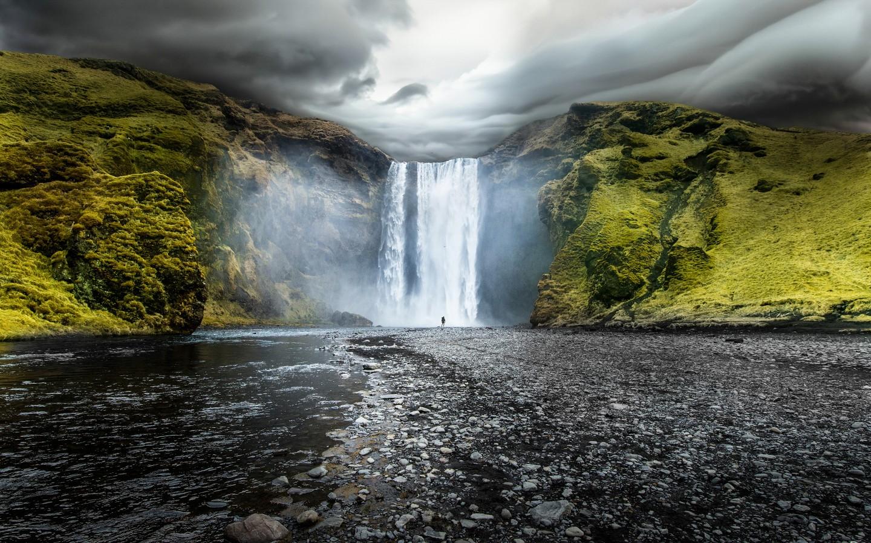 3d Windows Wallpaper Hd Skogafoss Waterfalls Iceland Wallpapers Hd Wallpapers