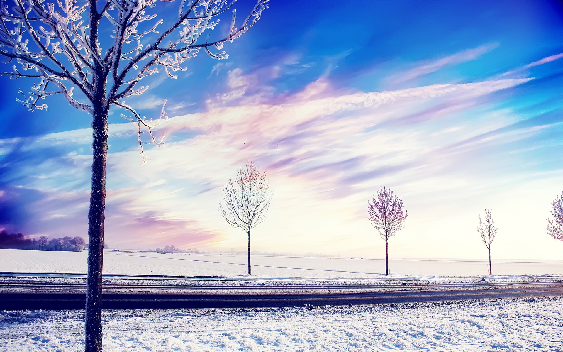 High Definition 3d Wallpapers For Laptop Snow Winter Trees Wallpapers Hd Wallpapers Id 14178