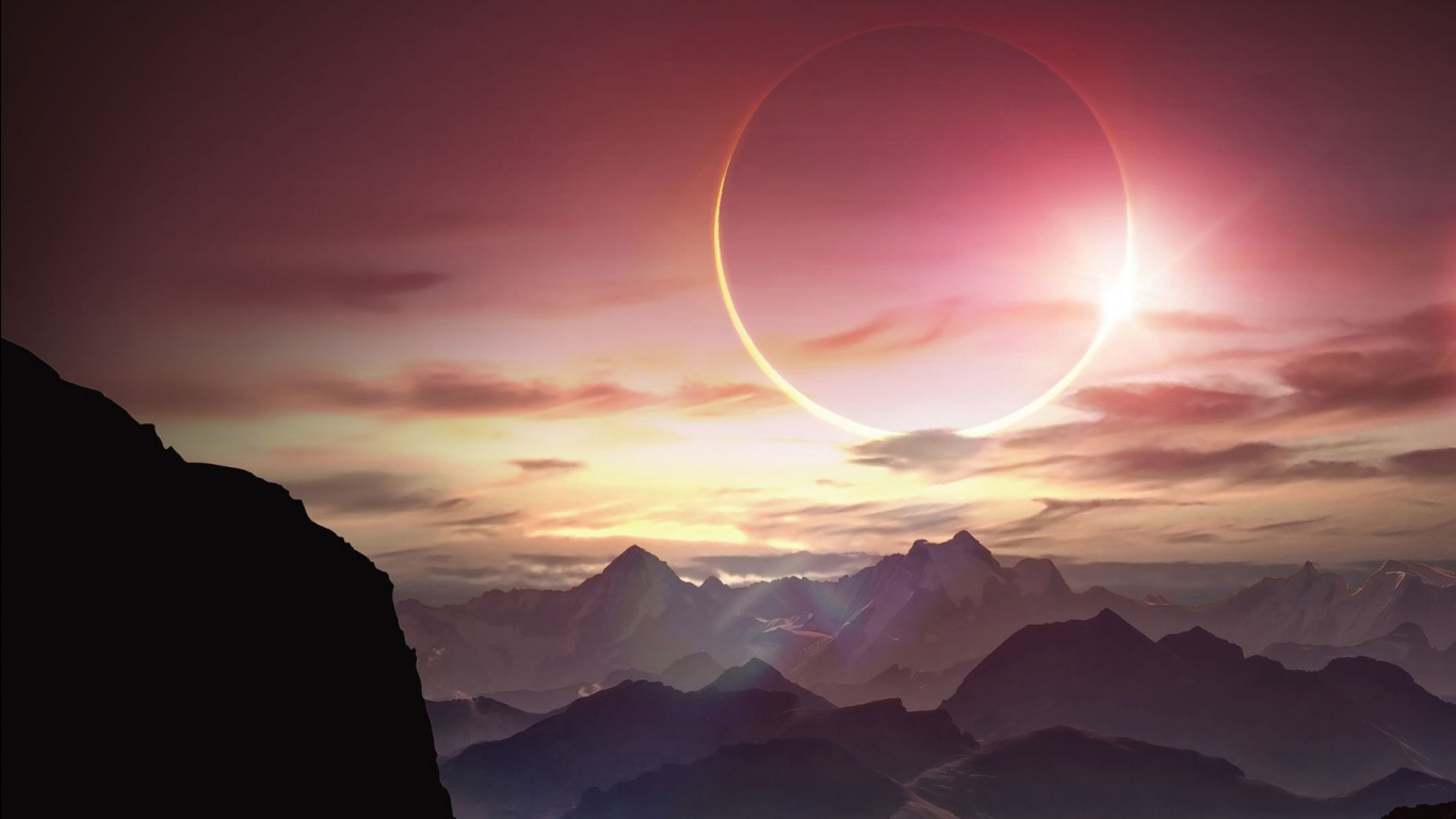 Cute Cool Wallpapers For Iphone Solar Eclipse Wallpapers Hd Wallpapers Id 13993