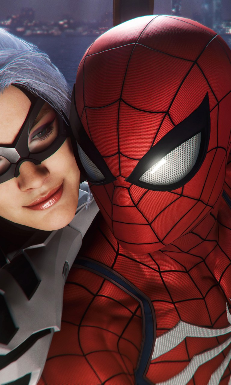 Marvel Wallpaper Iphone X Spider Man And Black Cat 4k Wallpapers Hd Wallpapers