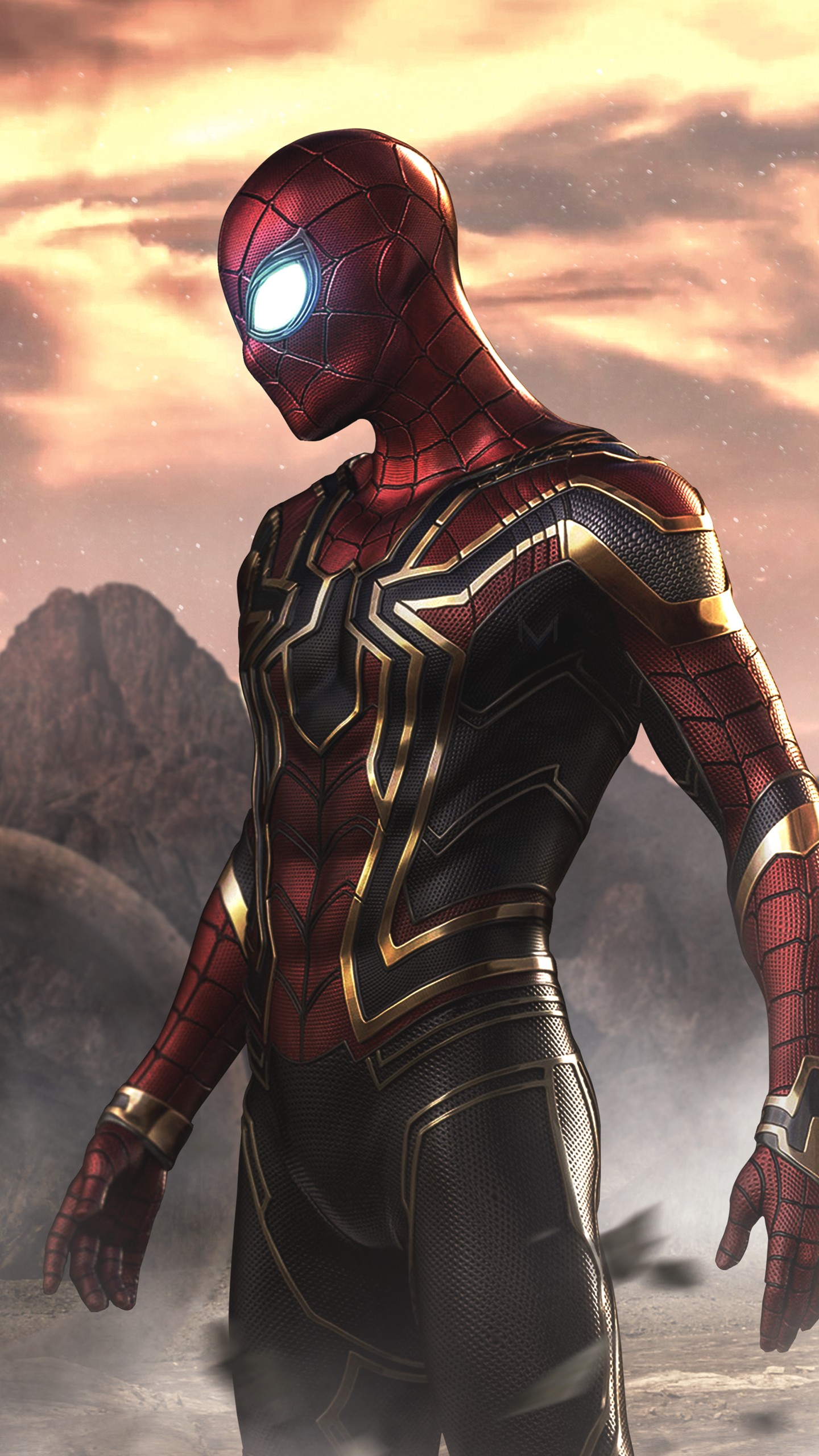 Full Hd Wallpapers  High Resolution Iphone 6s Spider Man As Iron Spider 4k Wallpapers Hd Wallpapers