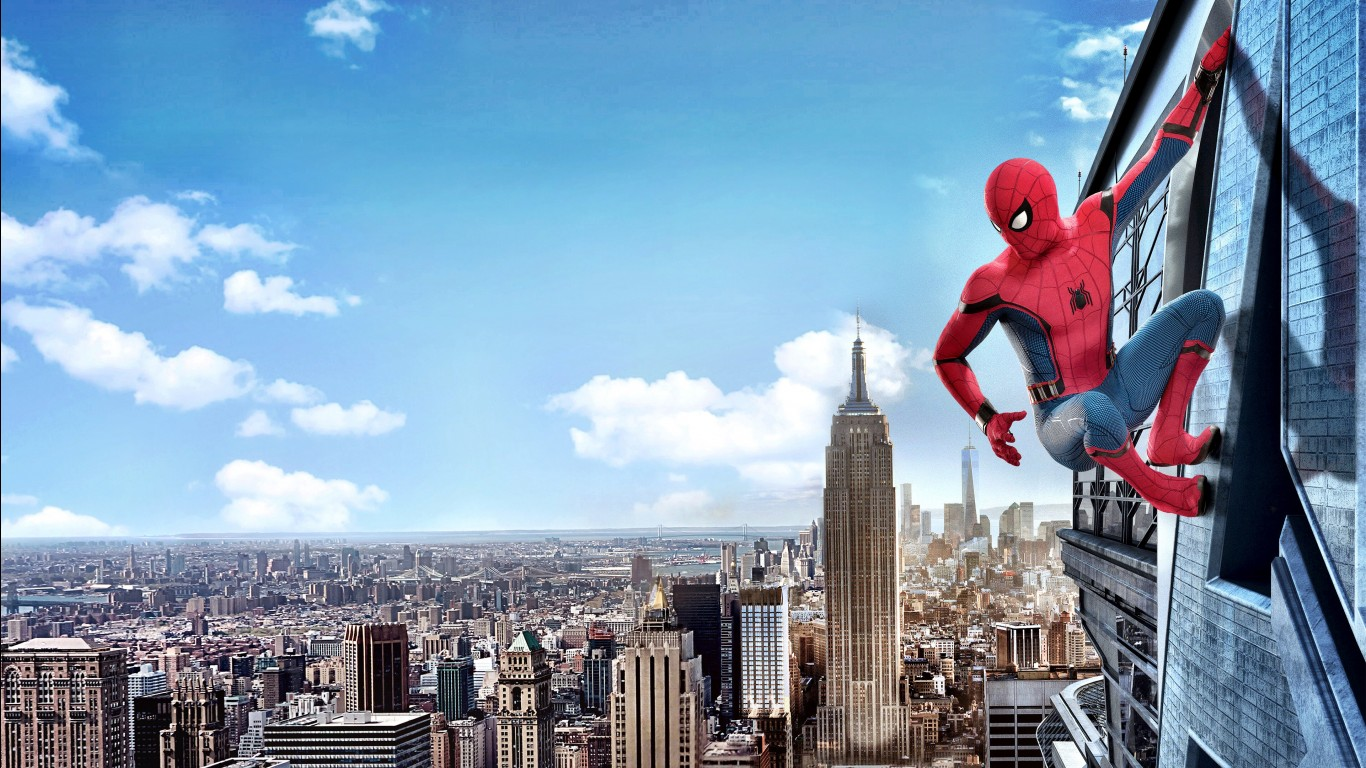 Cute Trolls Wallpaper Spider Man Homecoming 2017 Movie 4k Wallpapers Hd