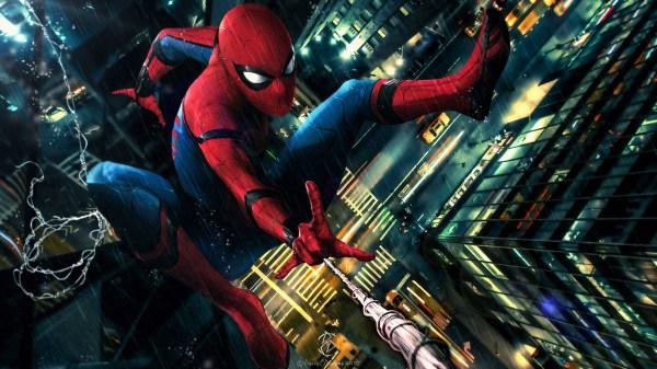 Spider-Man Fan Art Homecoming