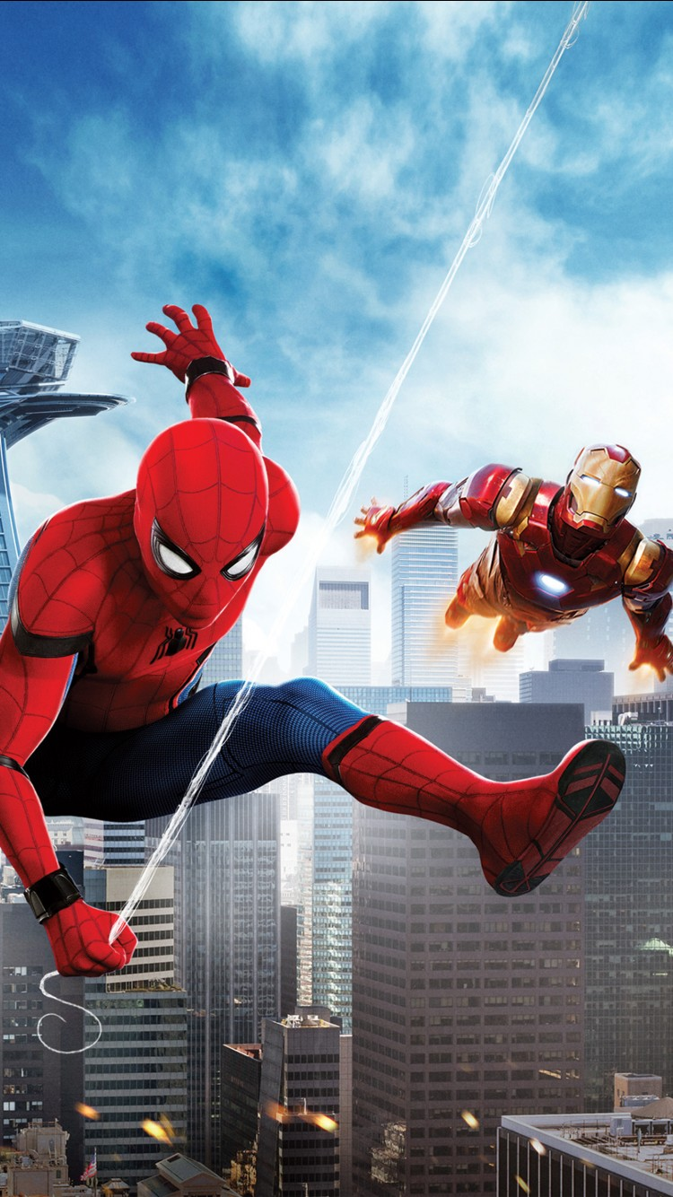 Wallpaper Iphone 6 Iron Man Spider Man Homecoming Iron Man Wallpapers Hd Wallpapers