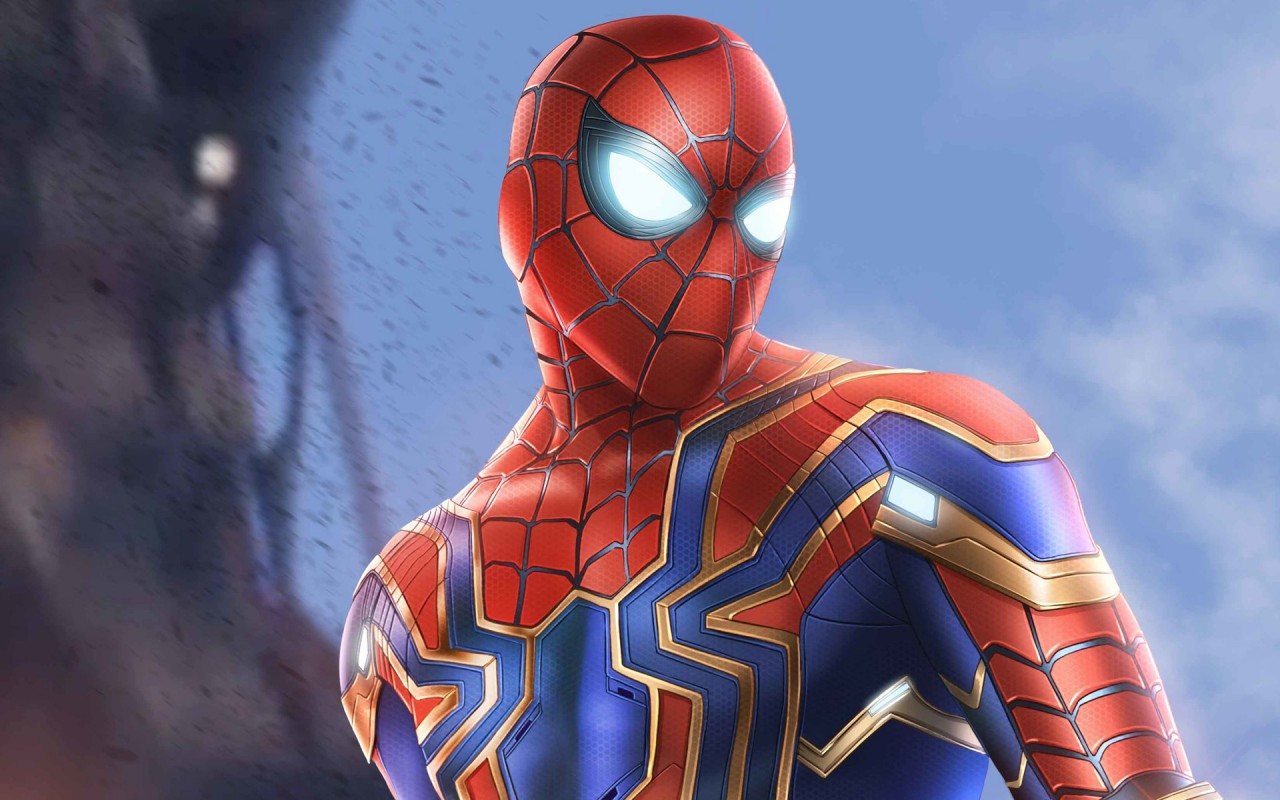 Spiderman Wallpaper 3d Android Spider Man Infinity War Armor Wallpapers Hd Wallpapers