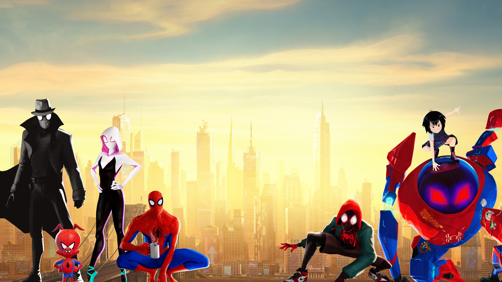 3d Smurfette Wallpapers Spider Man Into The Spider Verse 4k 8k Wallpapers Hd