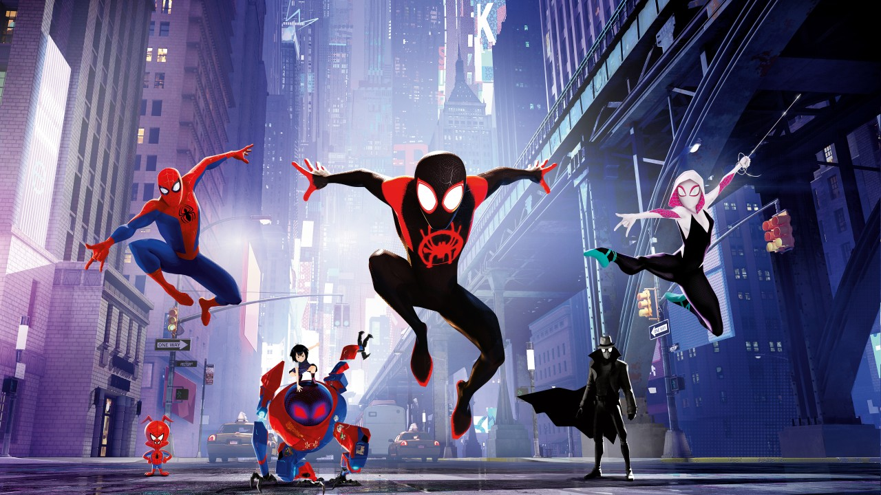 Animals In Suits Wallpaper Spider Man Into The Spider Verse 4k 8k Wallpapers Hd