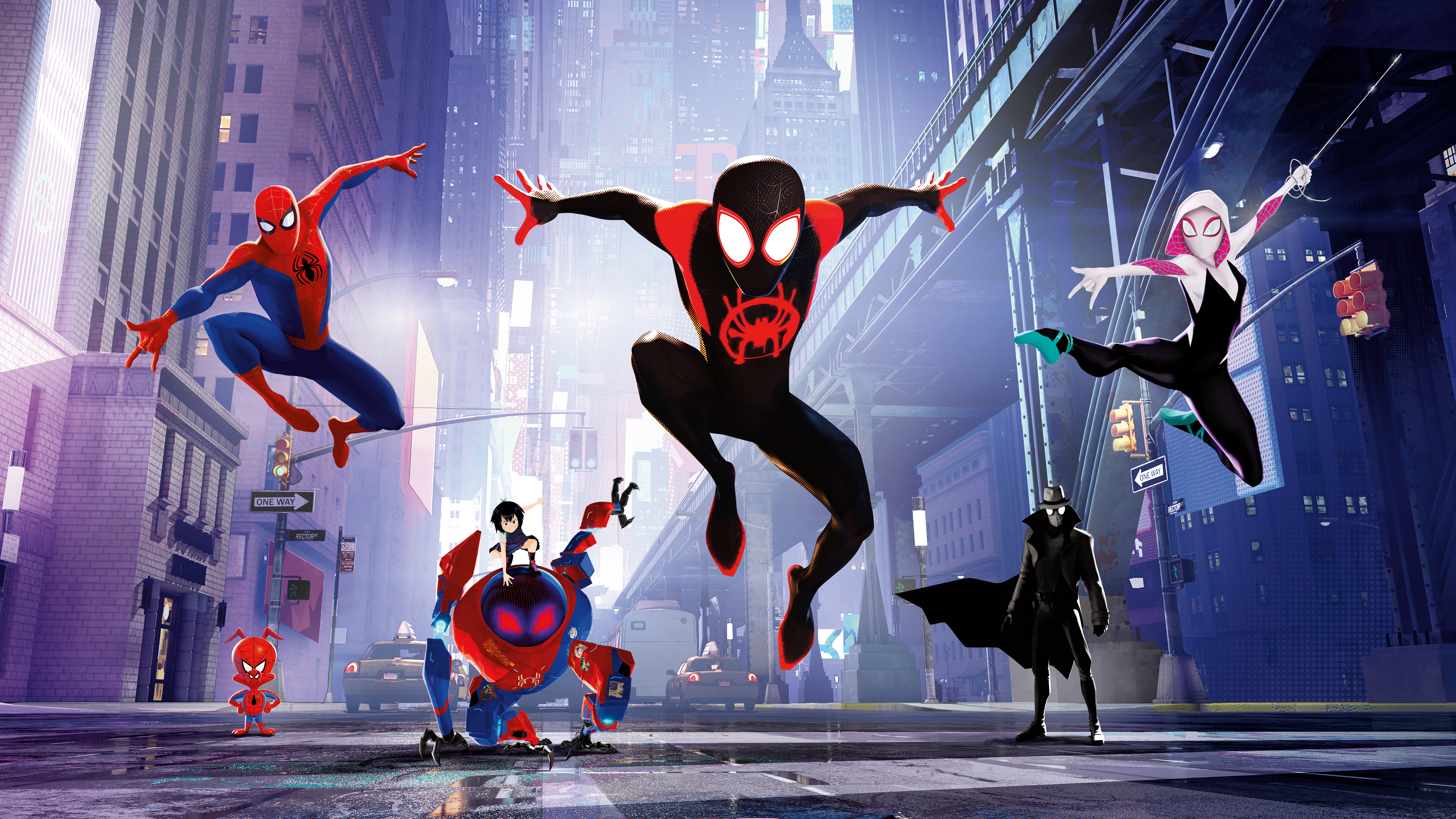 Minion Wallpapers 3d Spider Man Into The Spider Verse 4k 8k Wallpapers Hd