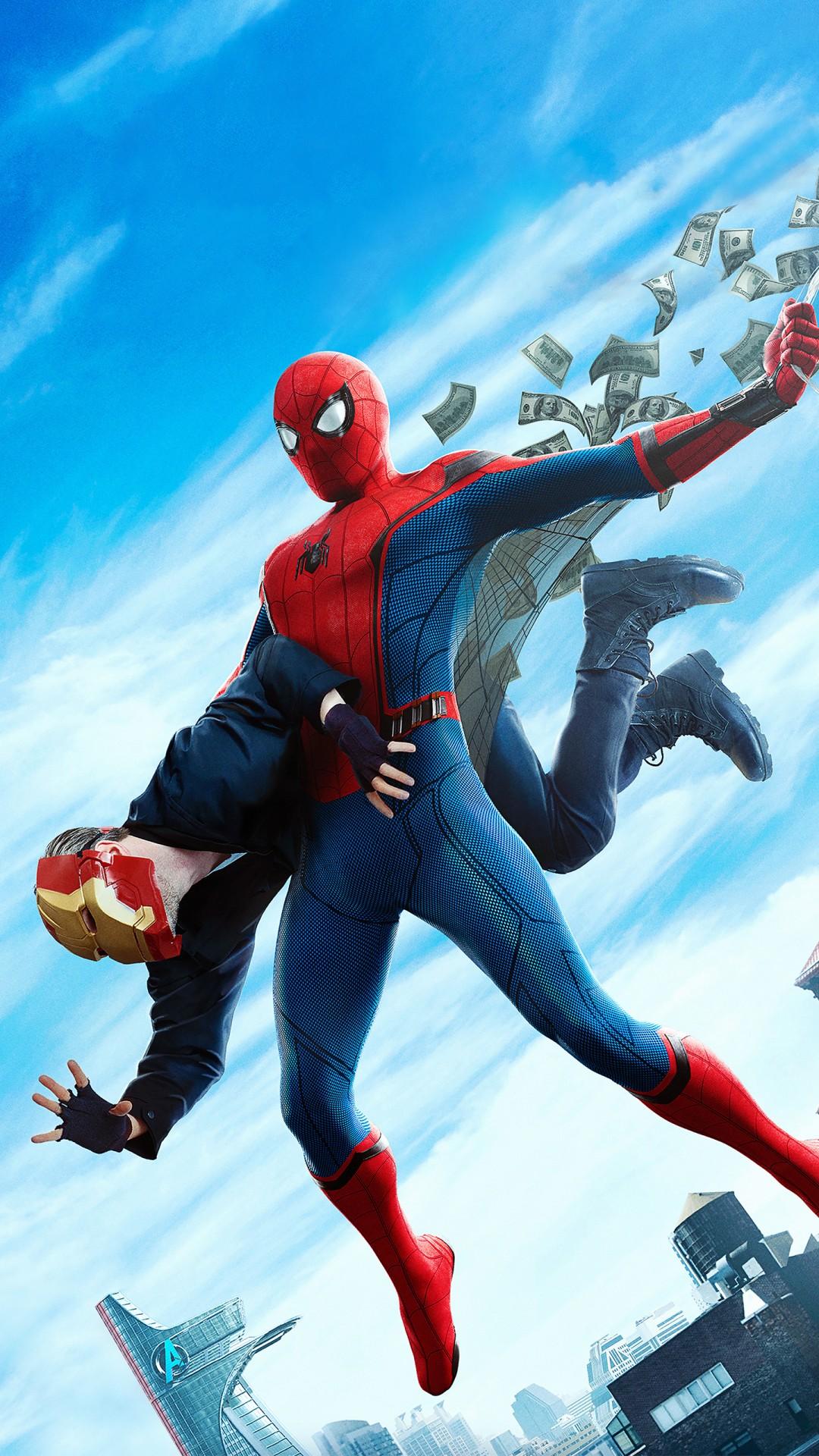 Spiderman Wallpaper Iphone X Spiderman Homecoming Hd 2017 Wallpapers Hd Wallpapers