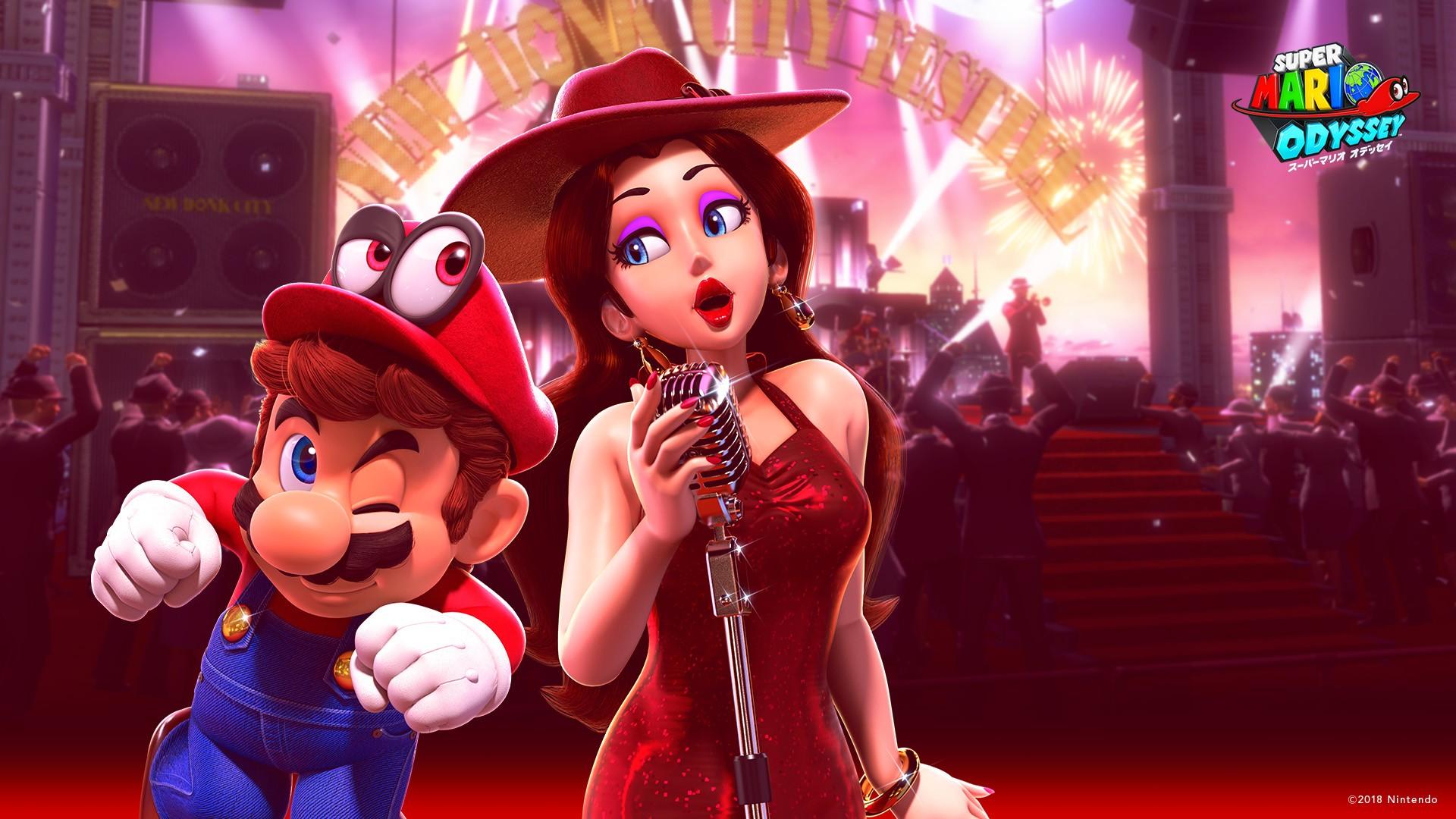 Super Mario Odyssey Wallpaper Iphone X Super Mario Odyssey Happy Birthday Wallpapers Hd