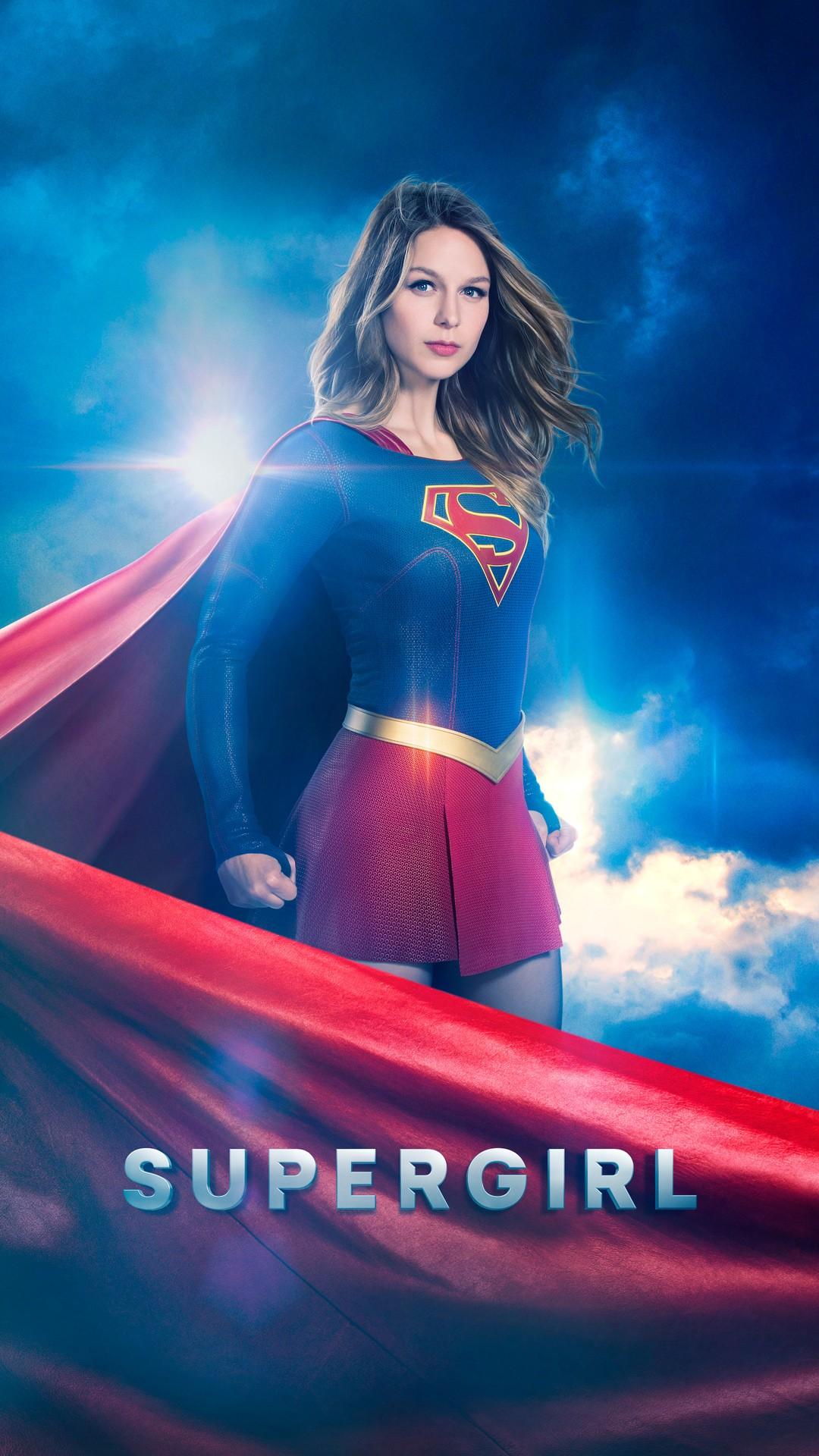 Iphone X Wallpaper Super Retina Supergirl Season 2 Wallpapers Hd Wallpapers Id 18835