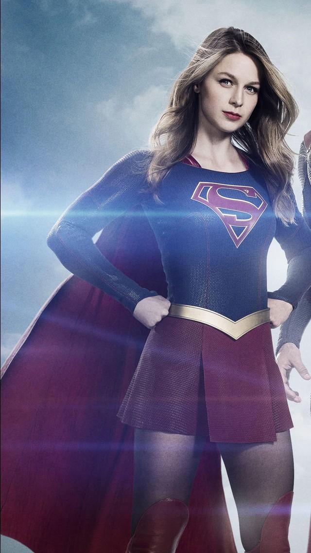 Iphone 5s Girl Wallpaper Supergirl Superman 4k Wallpapers Hd Wallpapers Id 18478