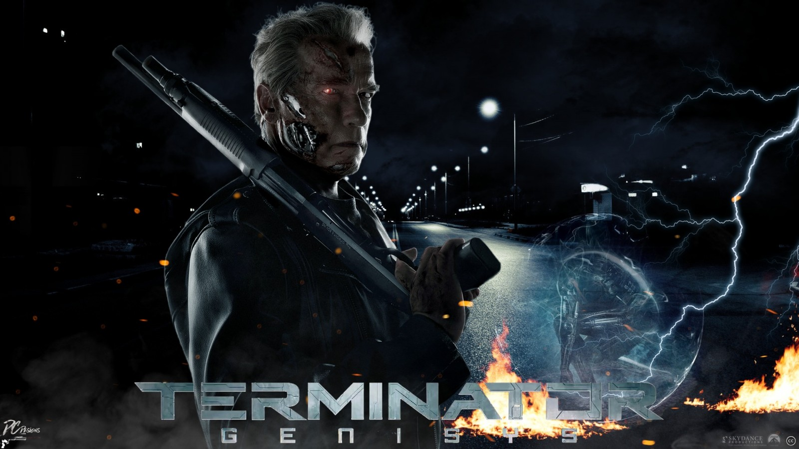 Iphone 5 Star Wars Wallpaper Terminator Genisys Arnold Wallpapers Hd Wallpapers Id