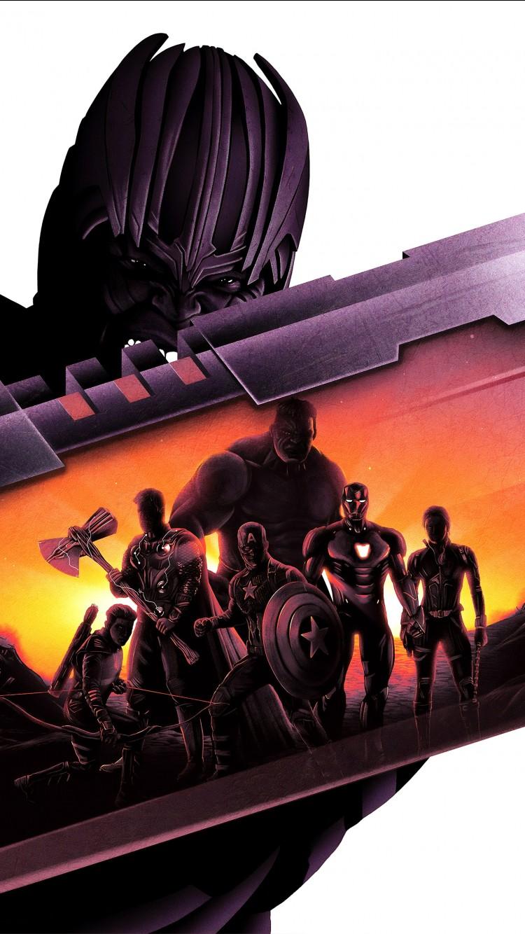 Thanos Wallpaper Iphone X Thanos Avengers Endgame Artwork 5k Wallpapers Hd