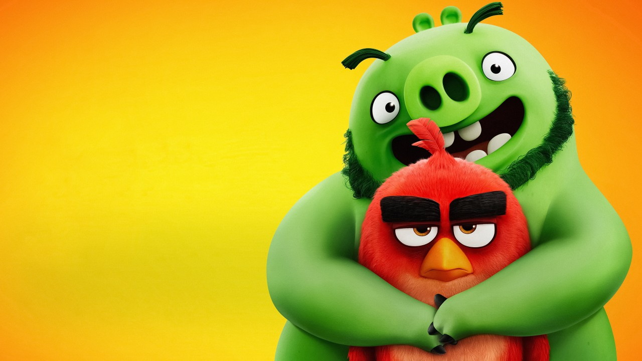 High Definition Cute Wallpapers The Angry Birds Movie 2 Red Amp Leonard 4k Wallpapers Hd