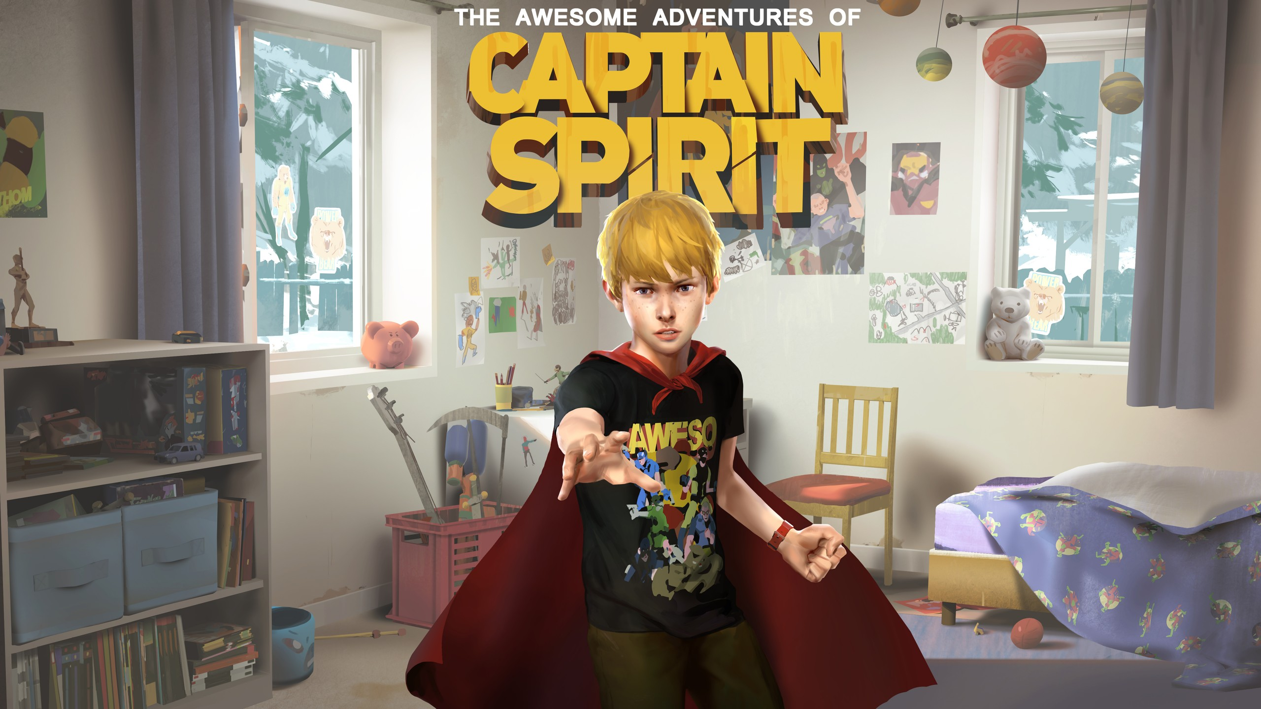 The Awesome Adventures Of Captain Spirit 5K Wallpapers