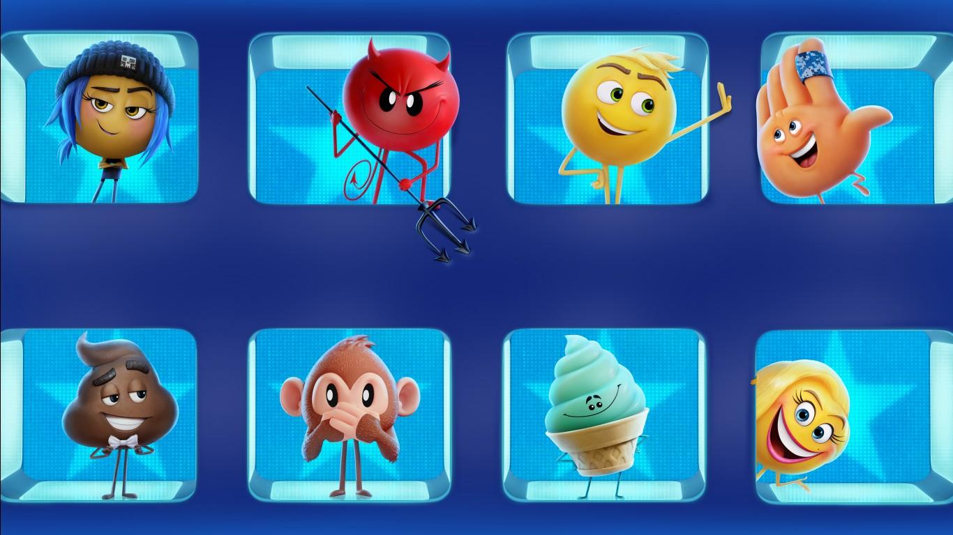 Wallpaper Cute Emojis The Emoji Movie 4k 8k 2017 Wallpapers Hd Wallpapers Id