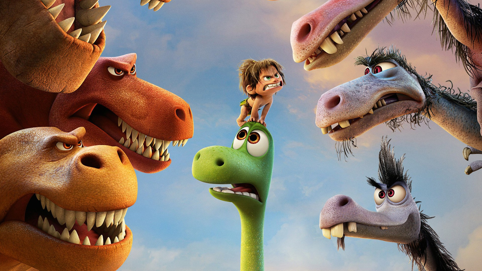 Wallpaper Dino Cute The Good Dinosaur 2015 Movie Wallpapers Hd Wallpapers